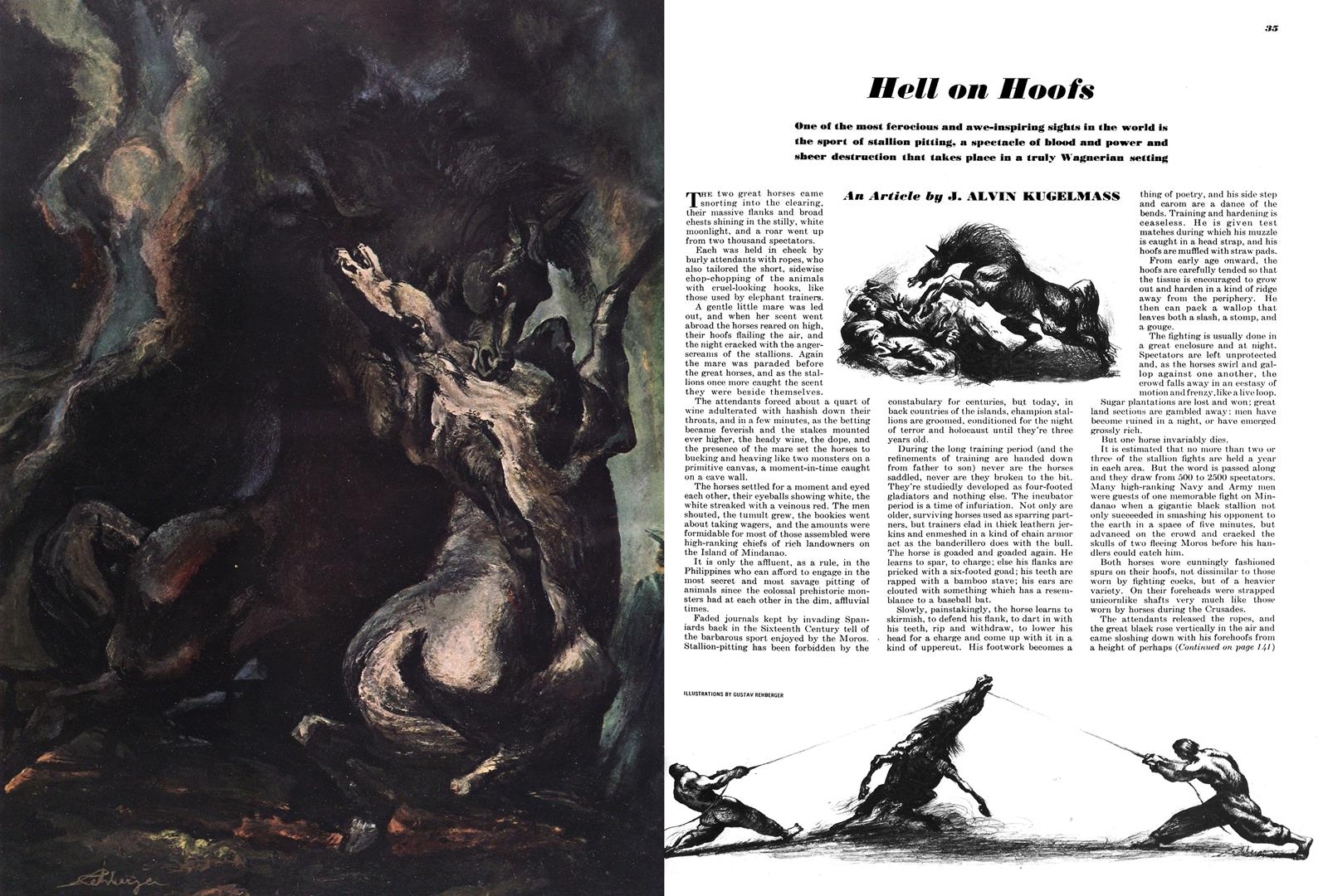 July 1948 - Hell on Hoofs