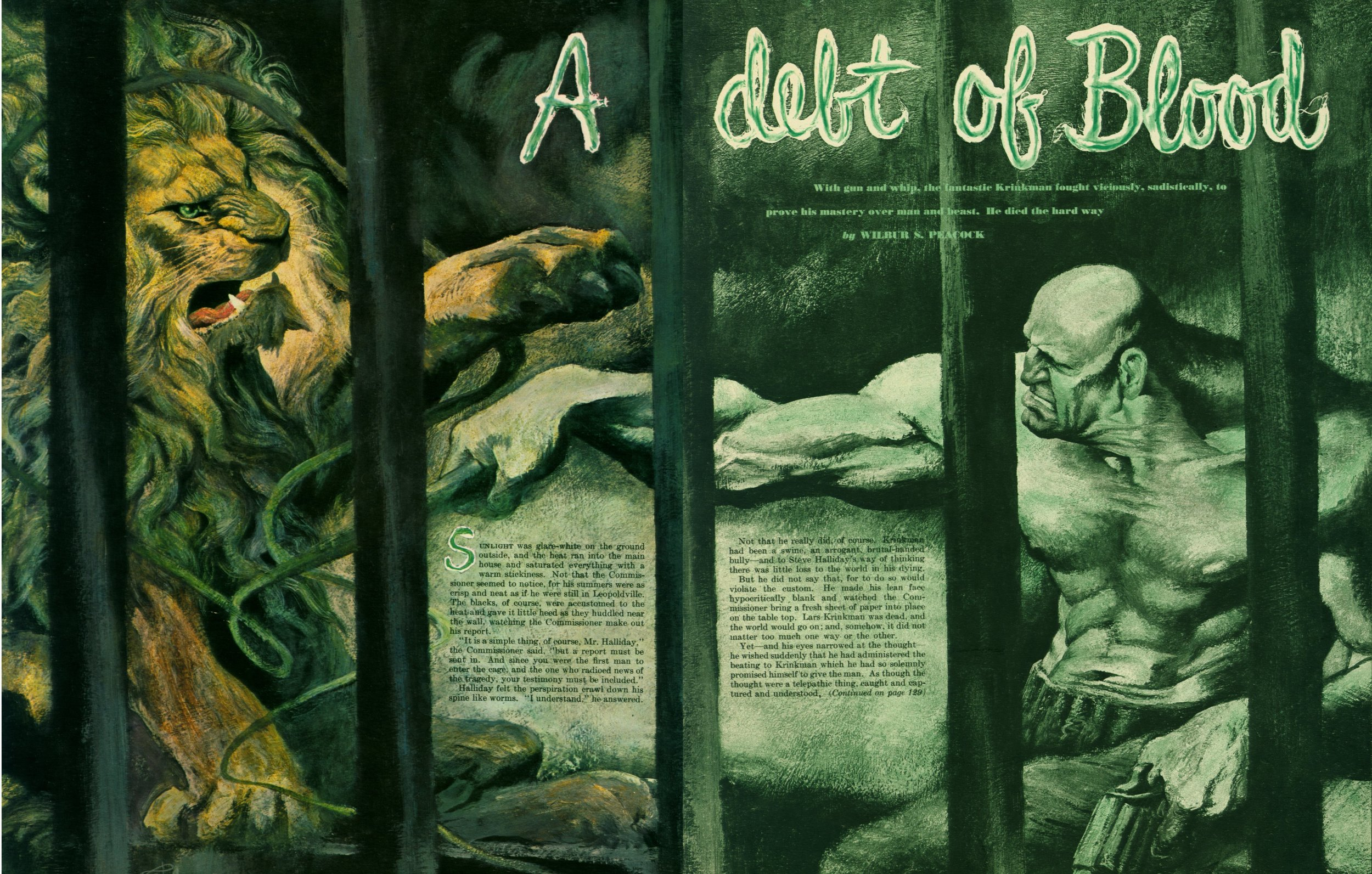 May 1951 - A Debt of Blood