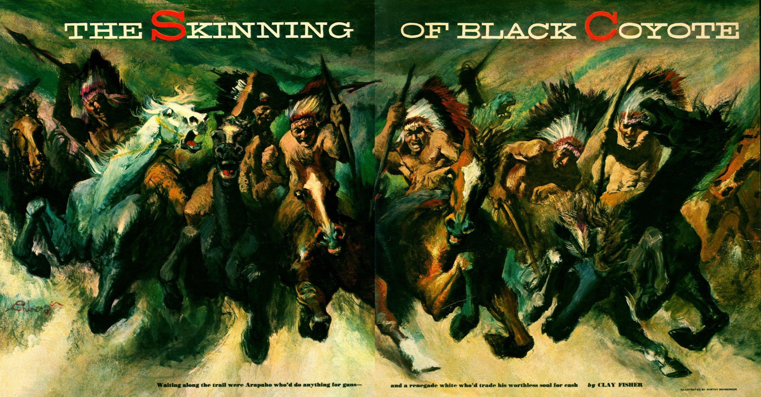 November 1951 - The Skinning of Black Coyote