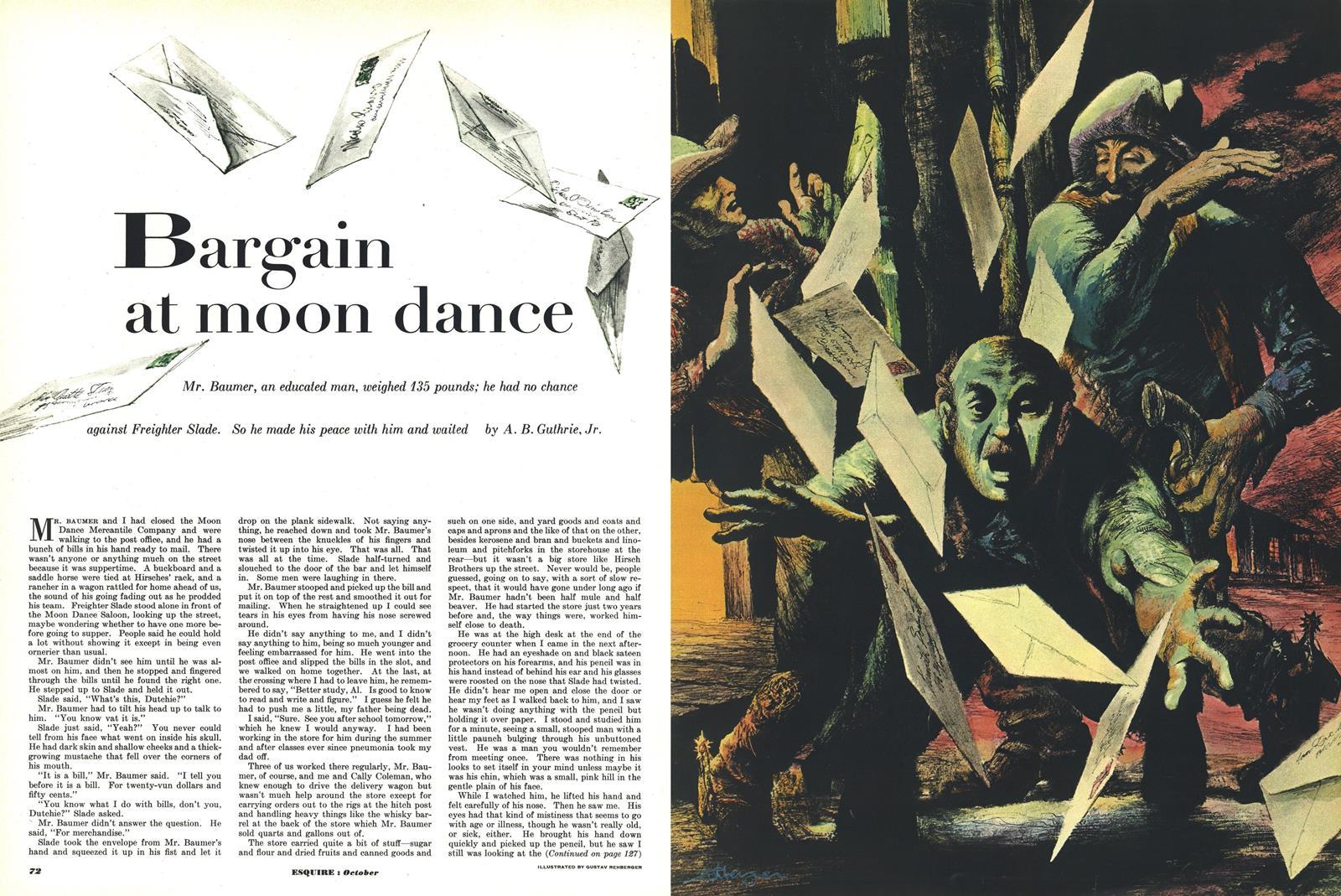 October 1952 - Bargain at Moon Dance