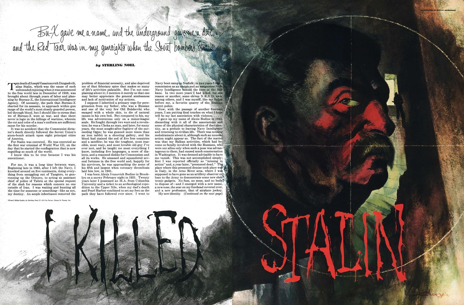 February 1952 - I Killed Stalin
