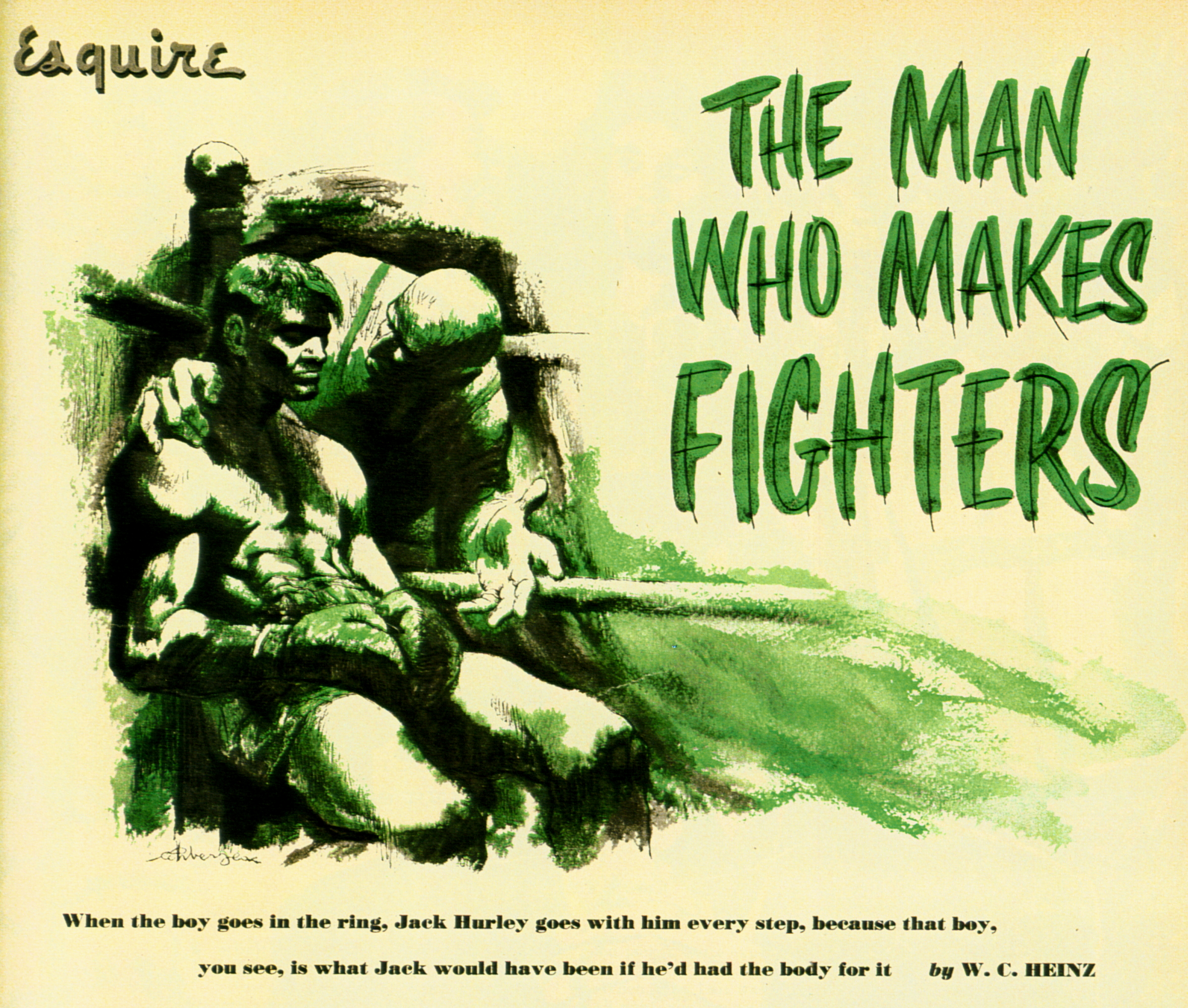 May 1952 - The Man Who Makes Fighters