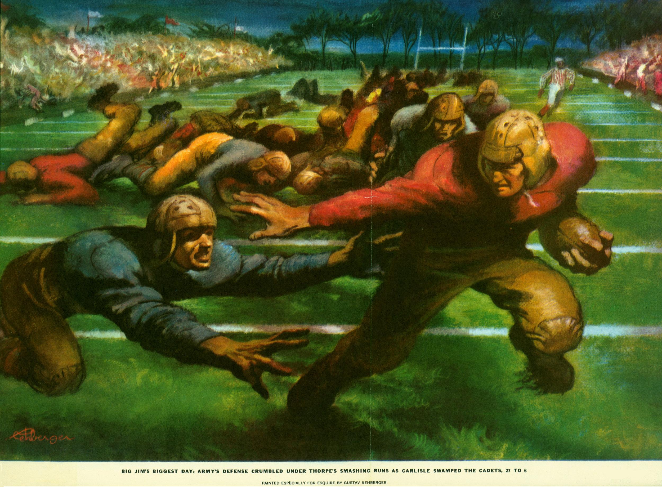 September 1952 - Carlisle Swamps the Cadets (Gatefold)