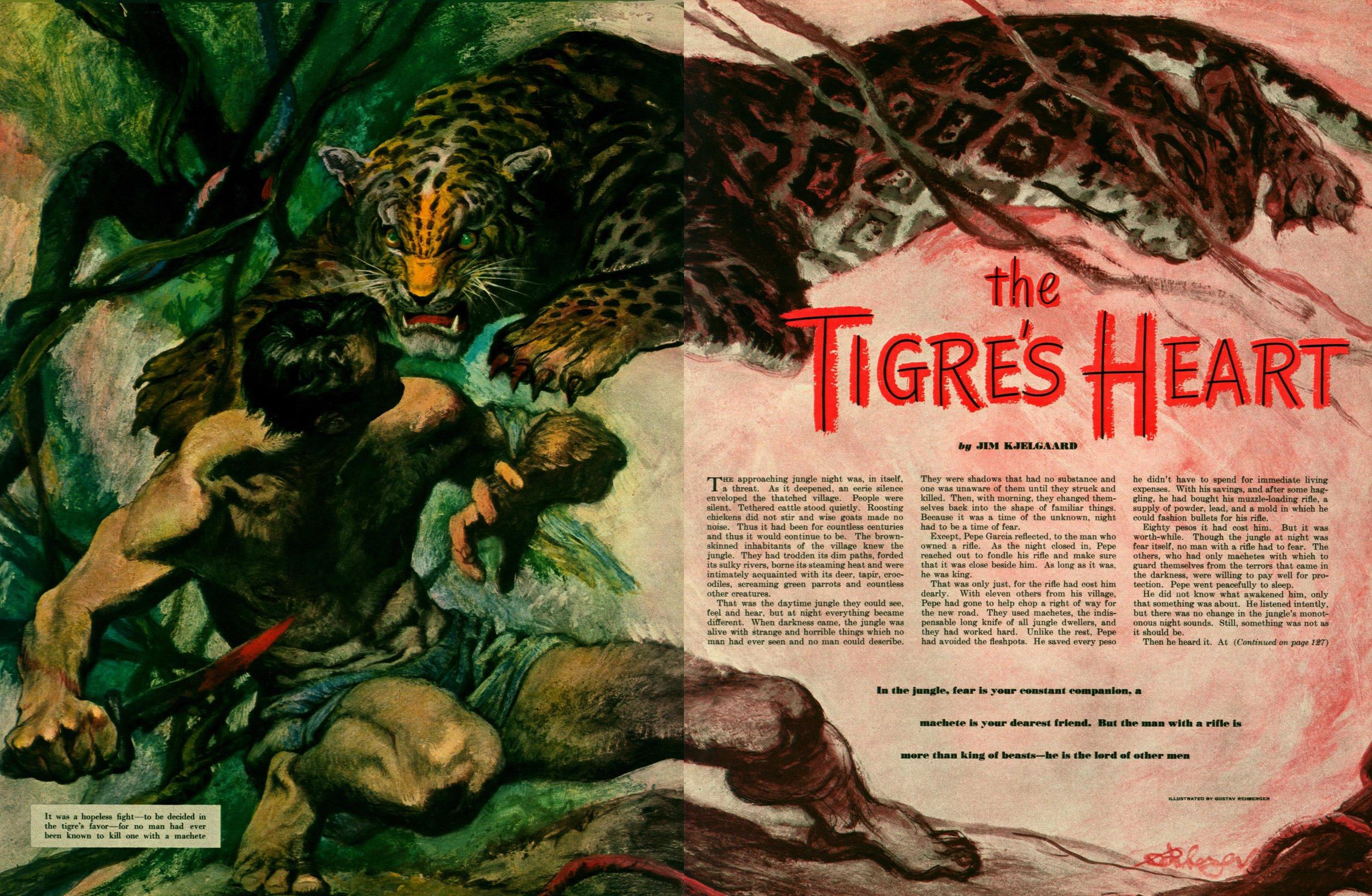 April 1951 - The Tigre's Heart