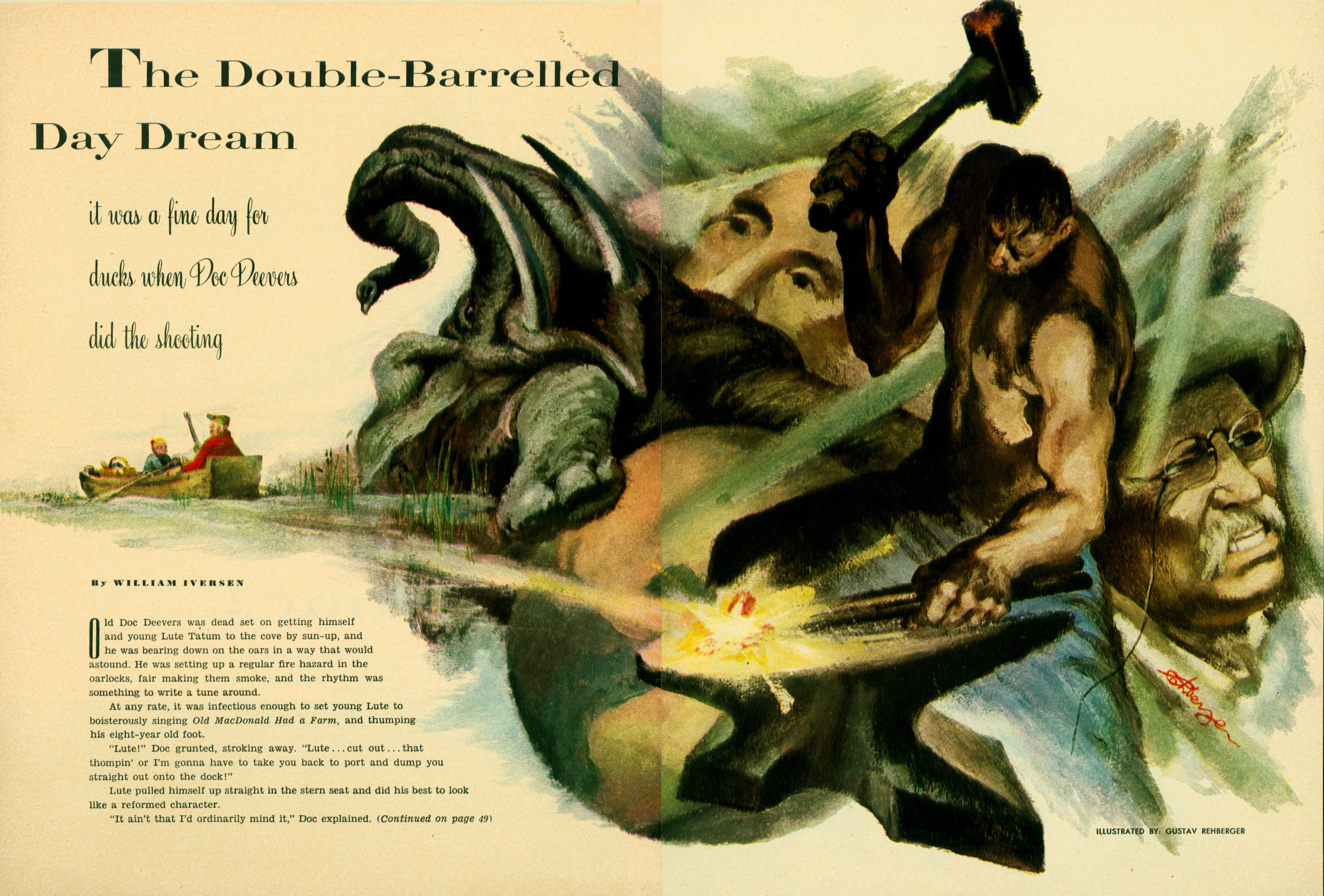 September 1952 - The Double-Barreled Day Dream