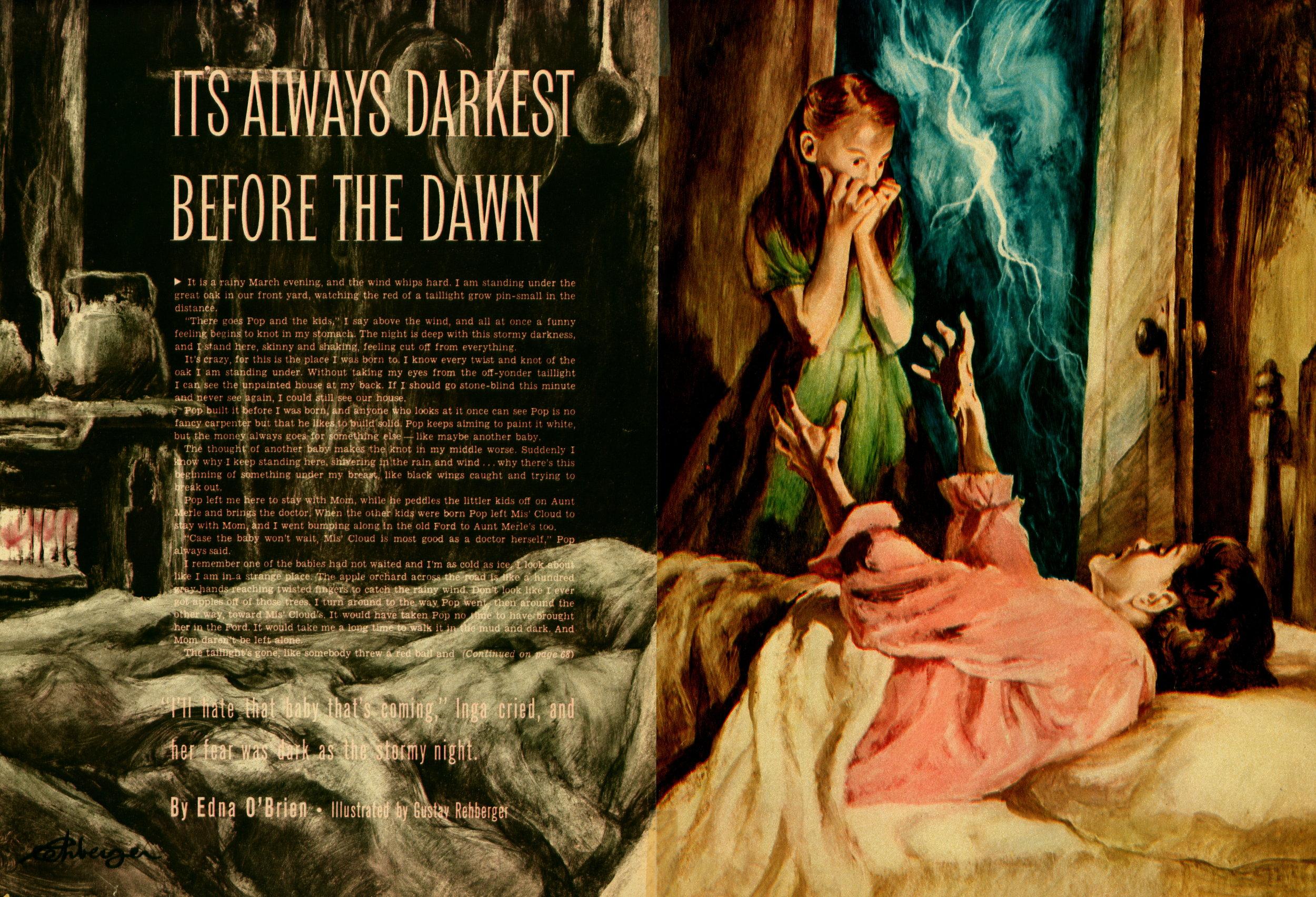 February 1956 - It's Always Darkest Before the Dawn