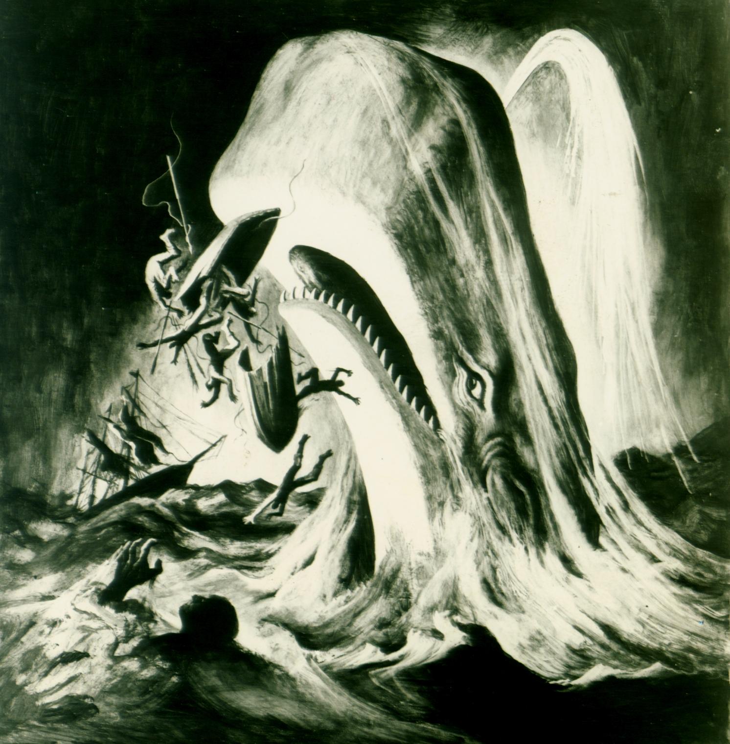 """Moby Dick"" starring Gregory Peck (Warner Bros.)"