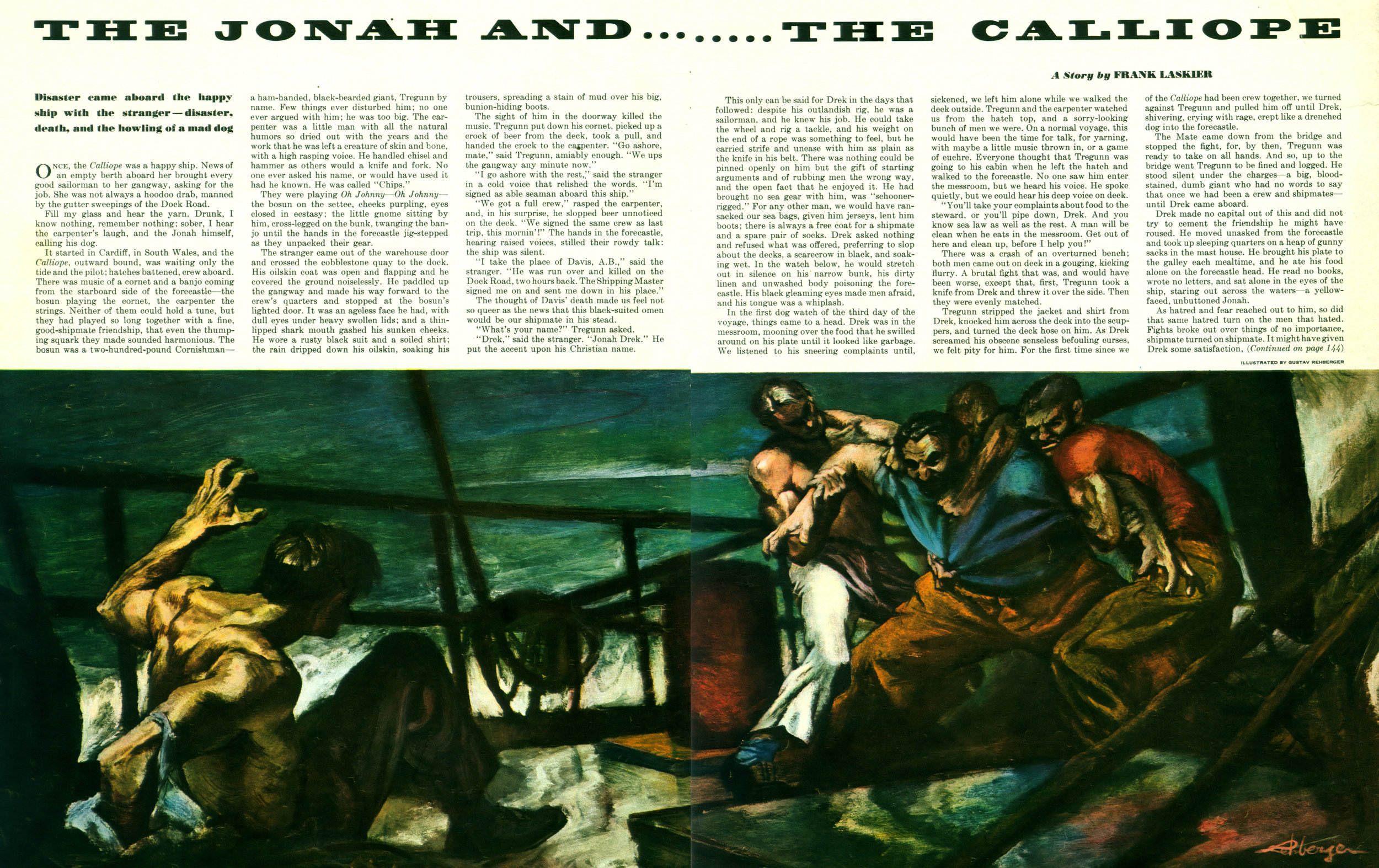 October 1949 - The Jonah and the Calliope