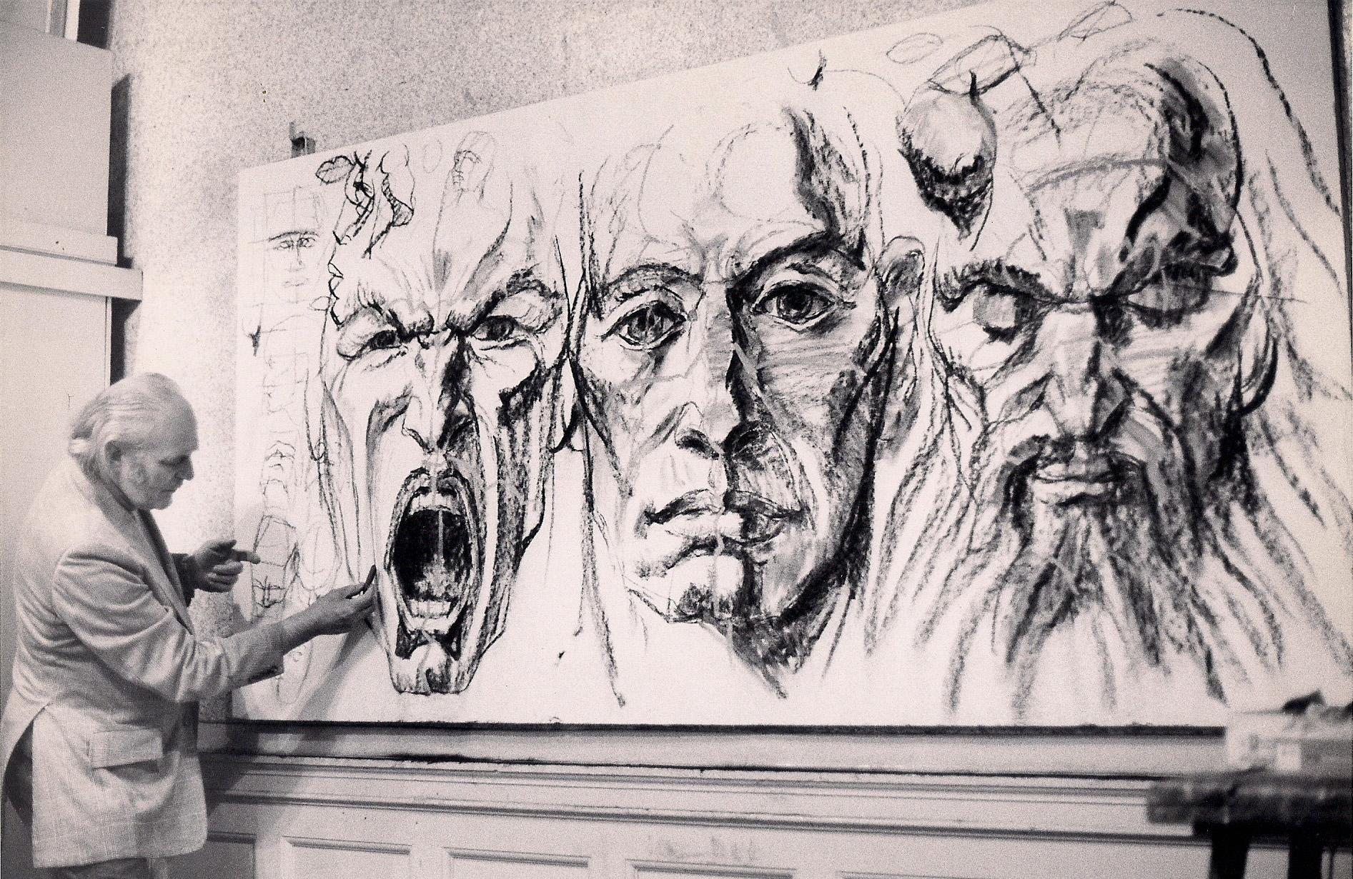 (Chalk, 4 x 8 ft.) 1985