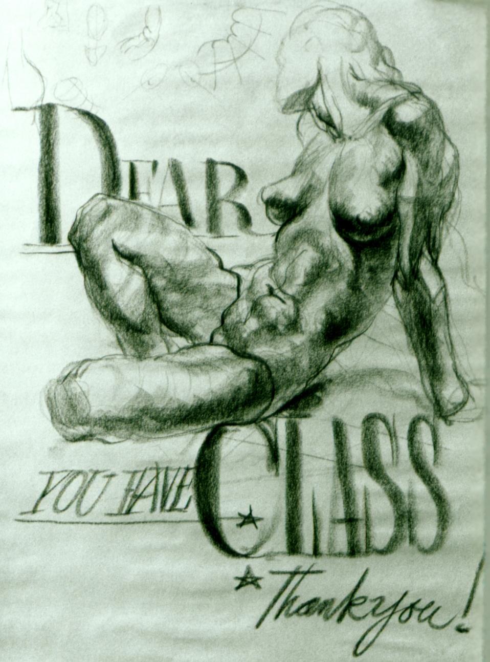 """""""Dear Class - Thank You"""" 1985"""