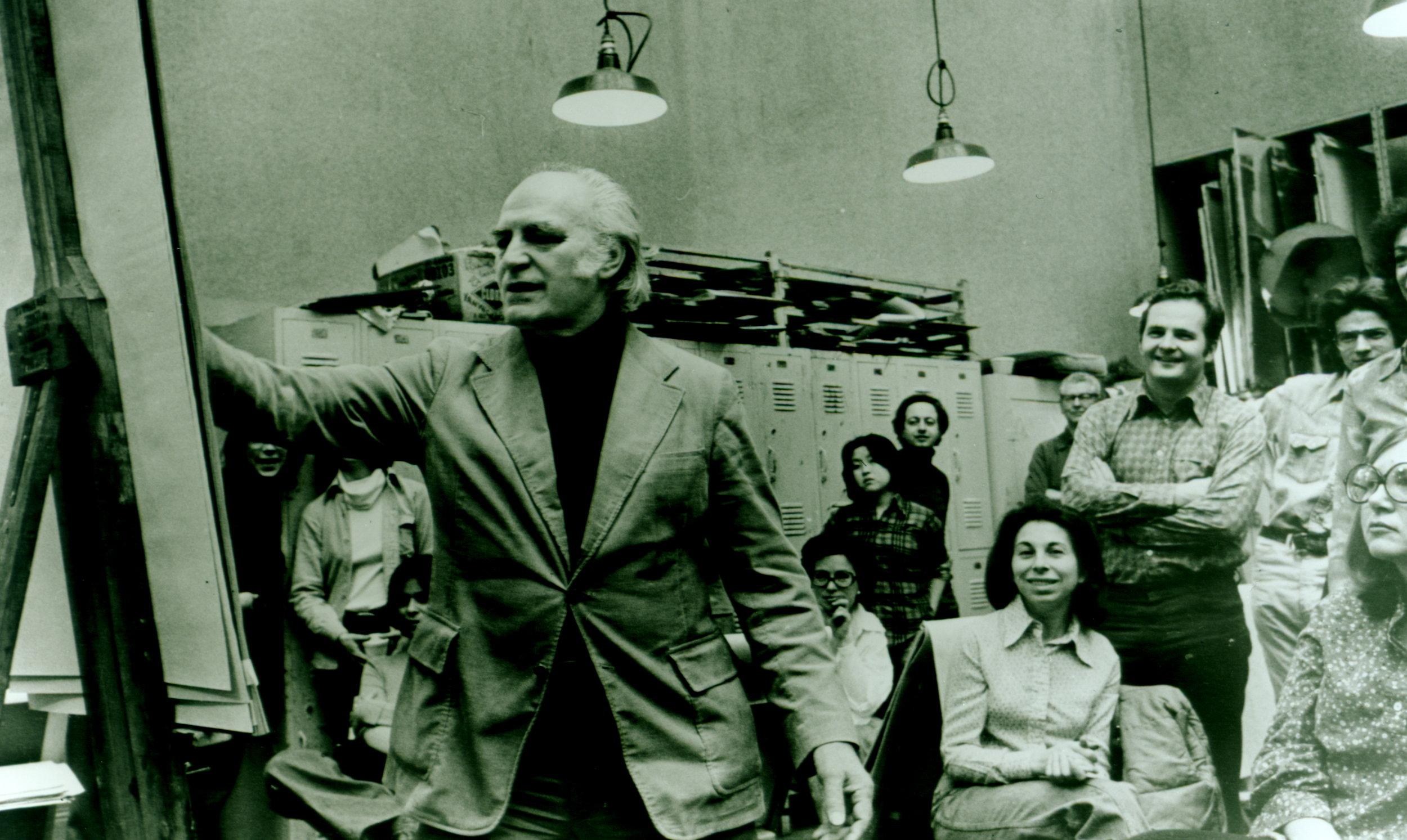 Photo, Sidney Waintrob of Budd Studios 1978