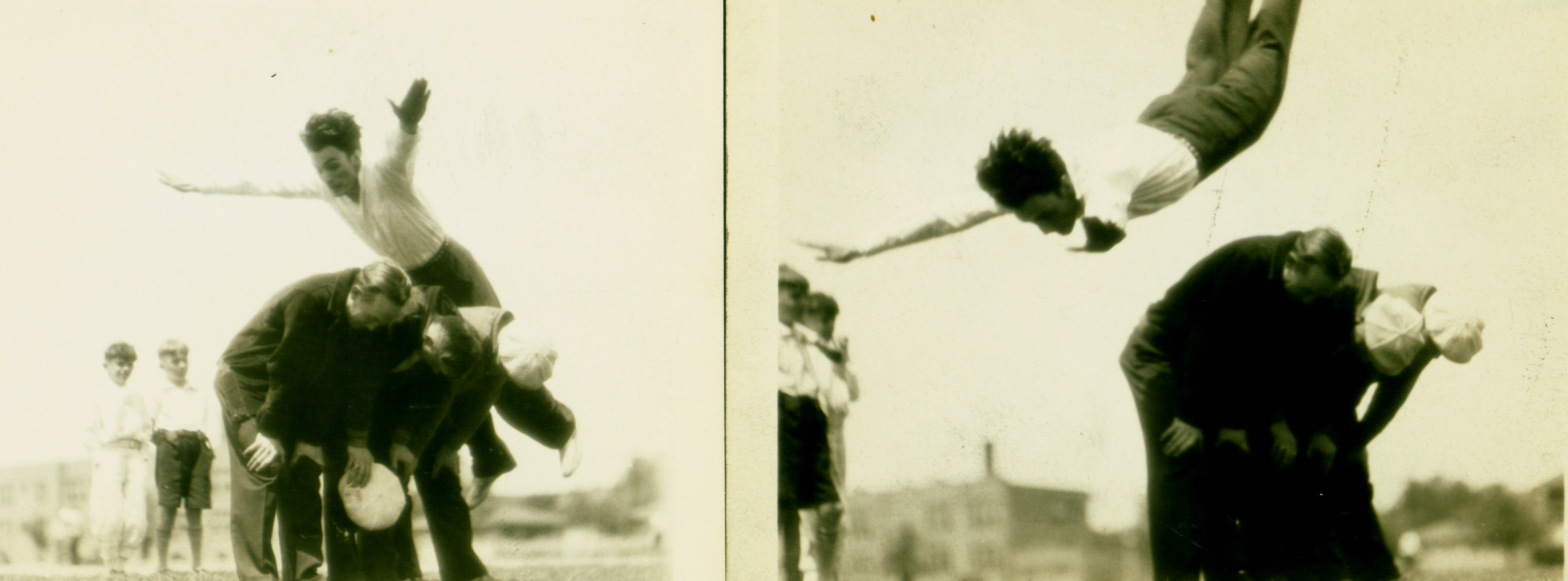 High Jumping in Chicago 1927