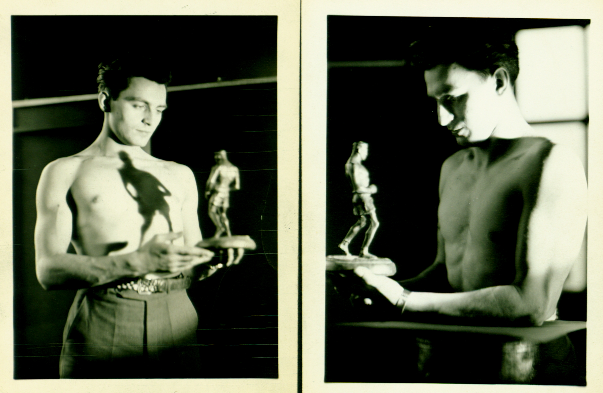 Sculpture of Boxer c. 1930
