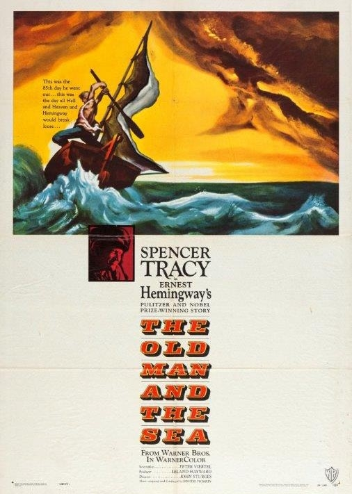 """""""The Old Man and the Sea"""" starring Spencer Tracy (Warner Bros.)"""
