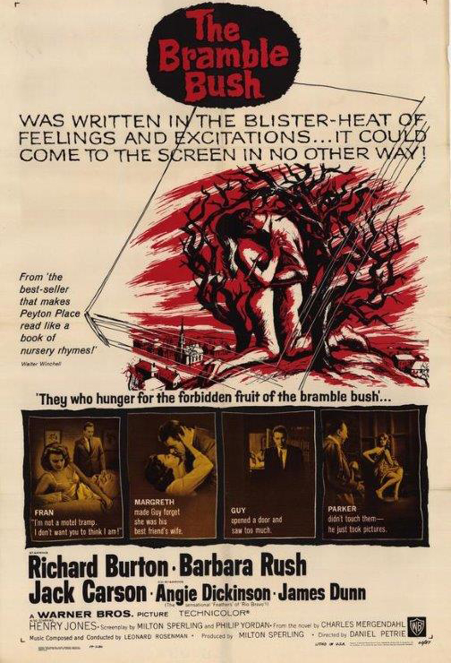 """The Bramble Bush"" starring Richard Burton (Warner Bros.)"