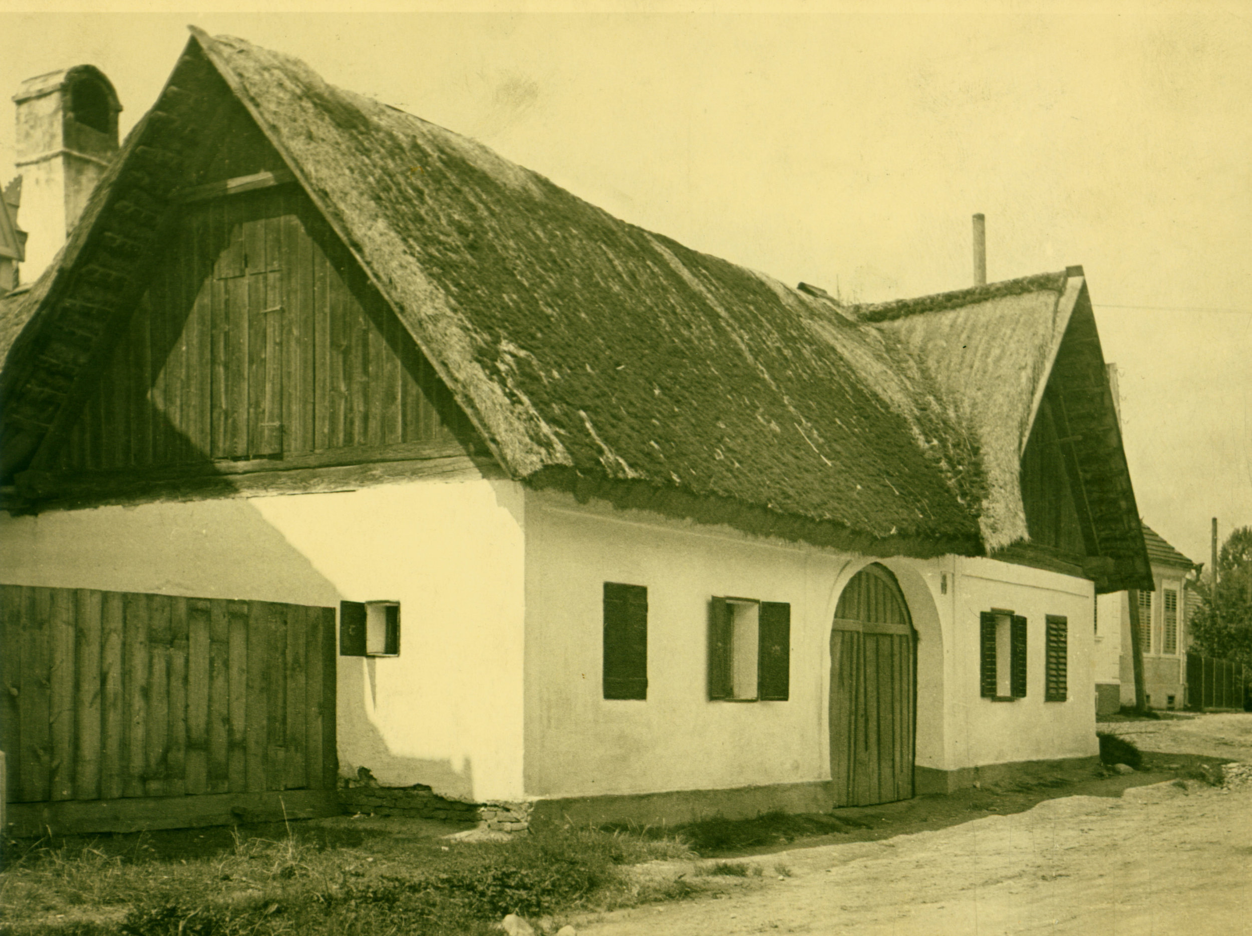 "Gustav's childhood home was simply referred to as ""Riedlingsdorf #153"" (Photo by Gustav Rehberger in 1937)"