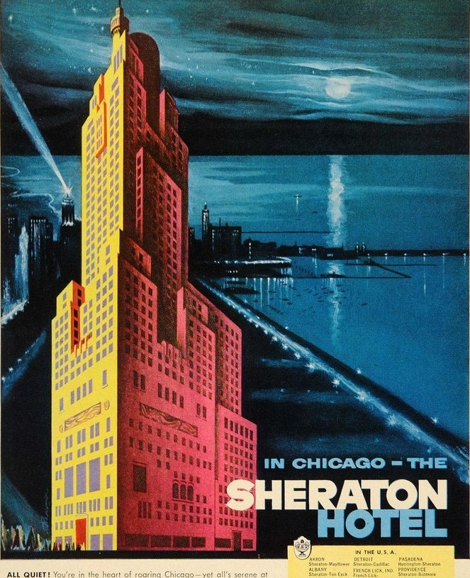 1955 - The Sheraton in Chicago