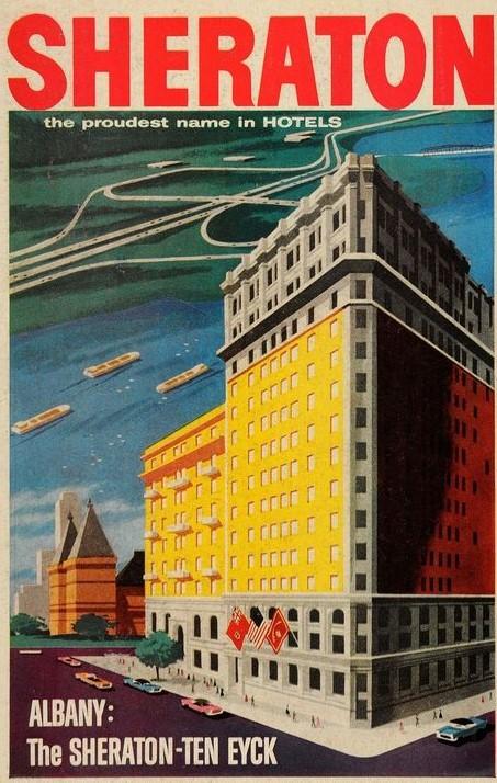 1957 - The Sheraton-Ten Eyck in Albany