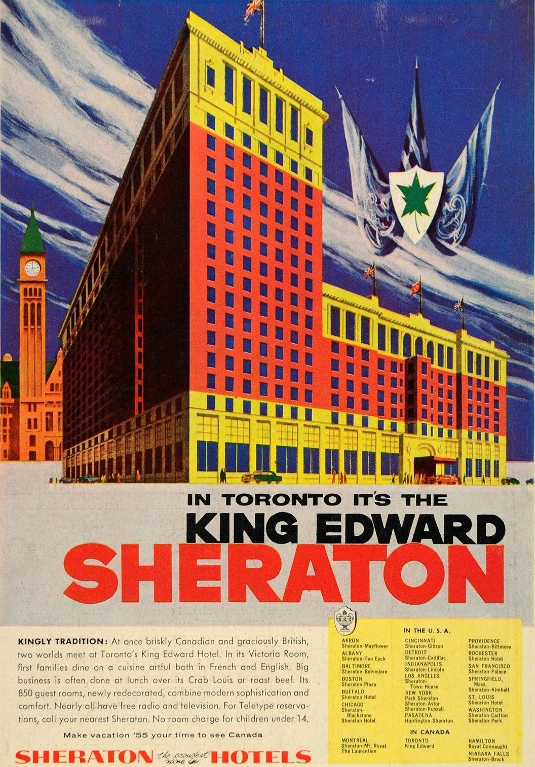 1955 - The Sheraton-King Edward in Toronto