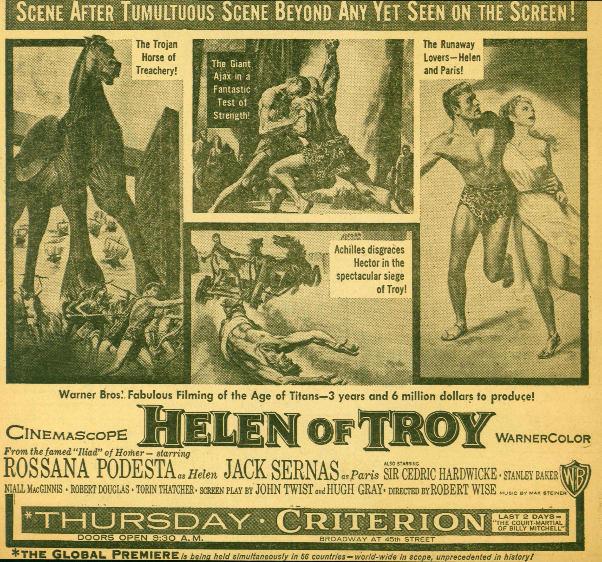 HELEN of TROY - 1956 #6  Warner Bros..JPG