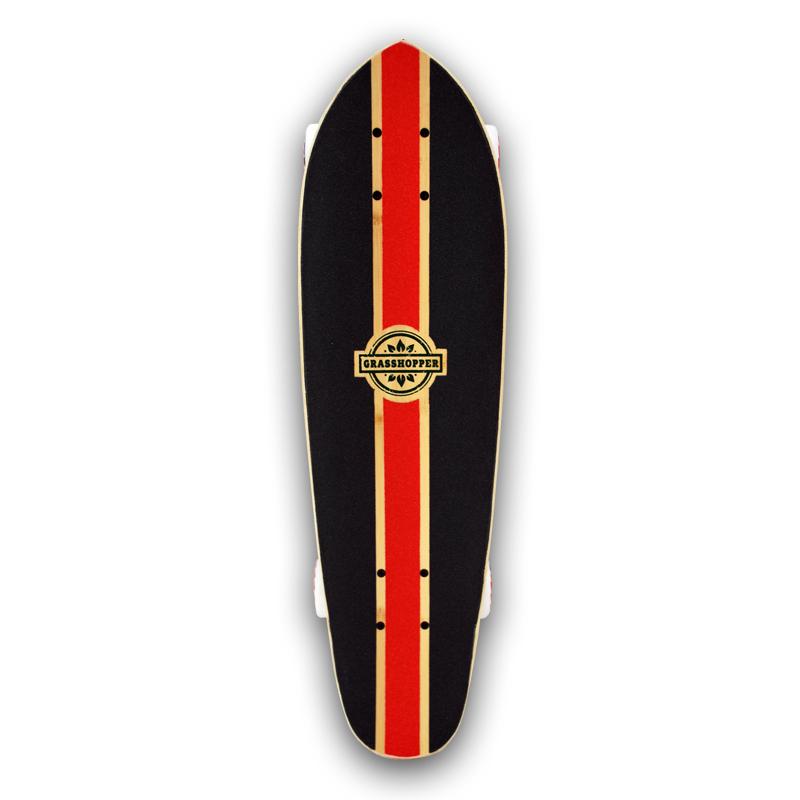 Grasshopper-Skateboard-Shortboard-Mini-cruiser-street-Complete-bamboo-hemp-Red-pintail-3.jpg