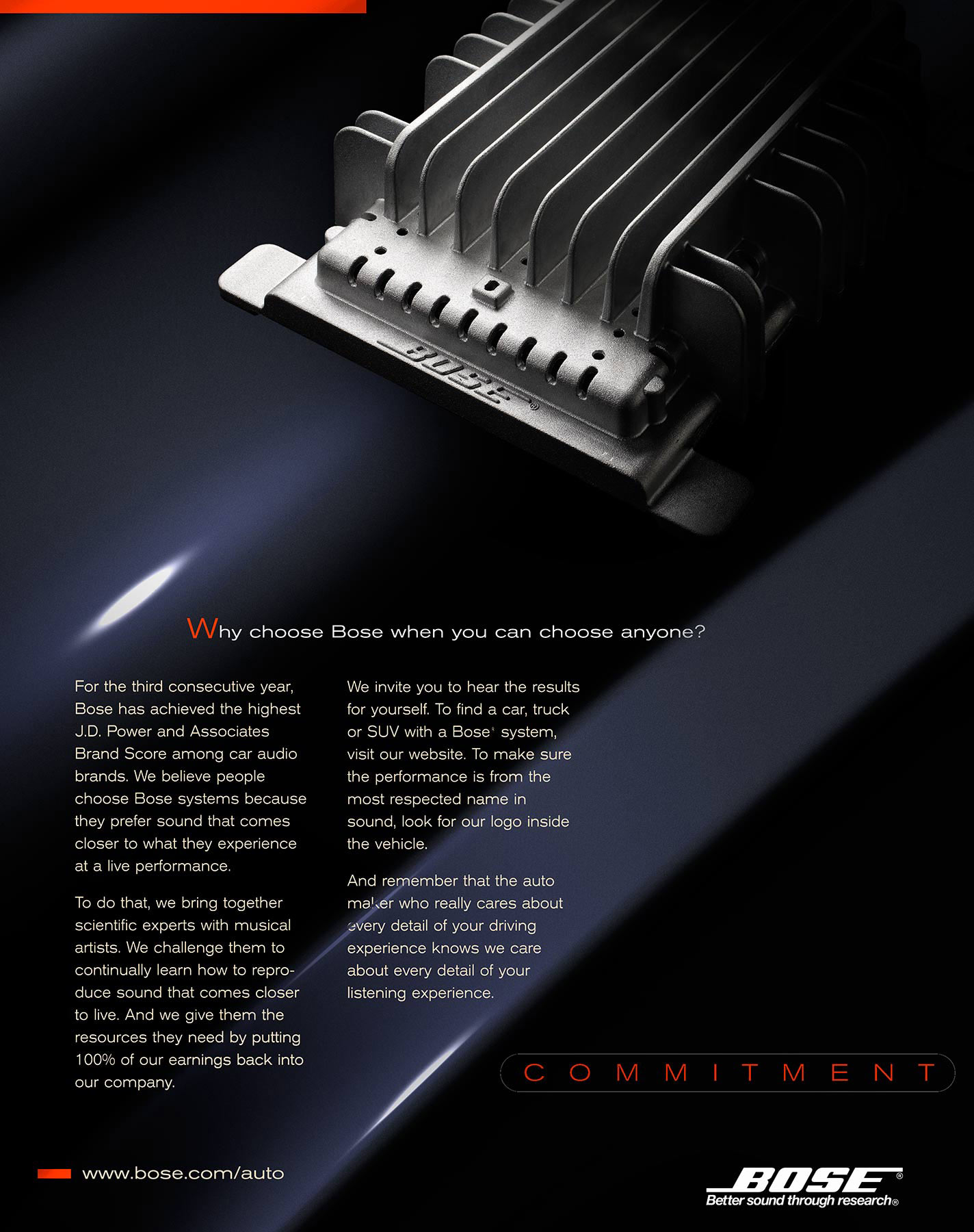 Bose Auto Sound