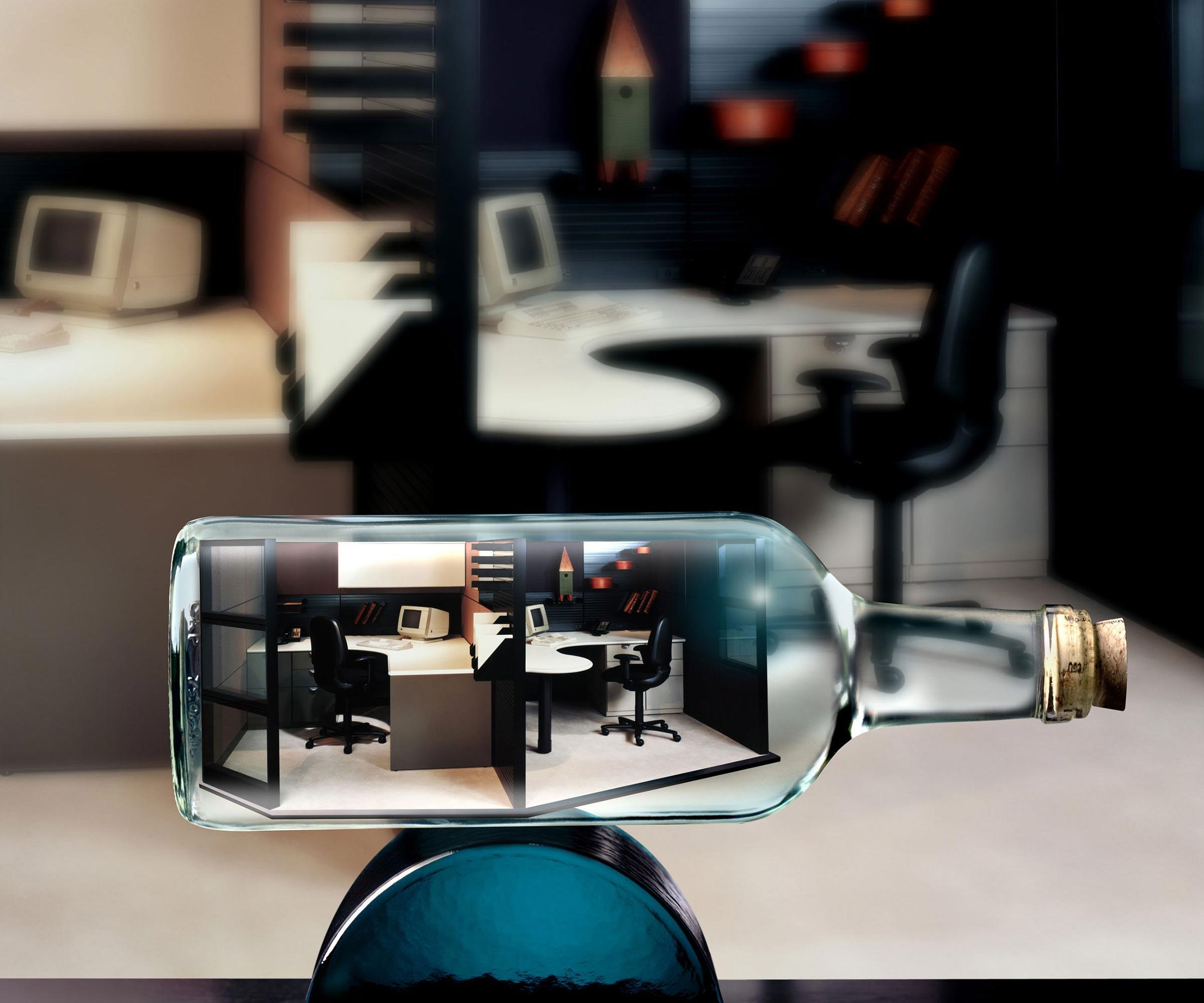 Office in a Bottle