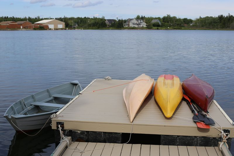 All of our properties provide kayaks and rowboats for the free use of our guests.