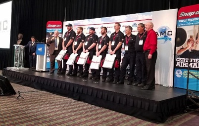 The winning team at this years MRO Competition, from UAL (CLE)