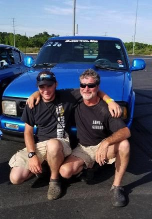 Brother Dan Stunda and son Dane.