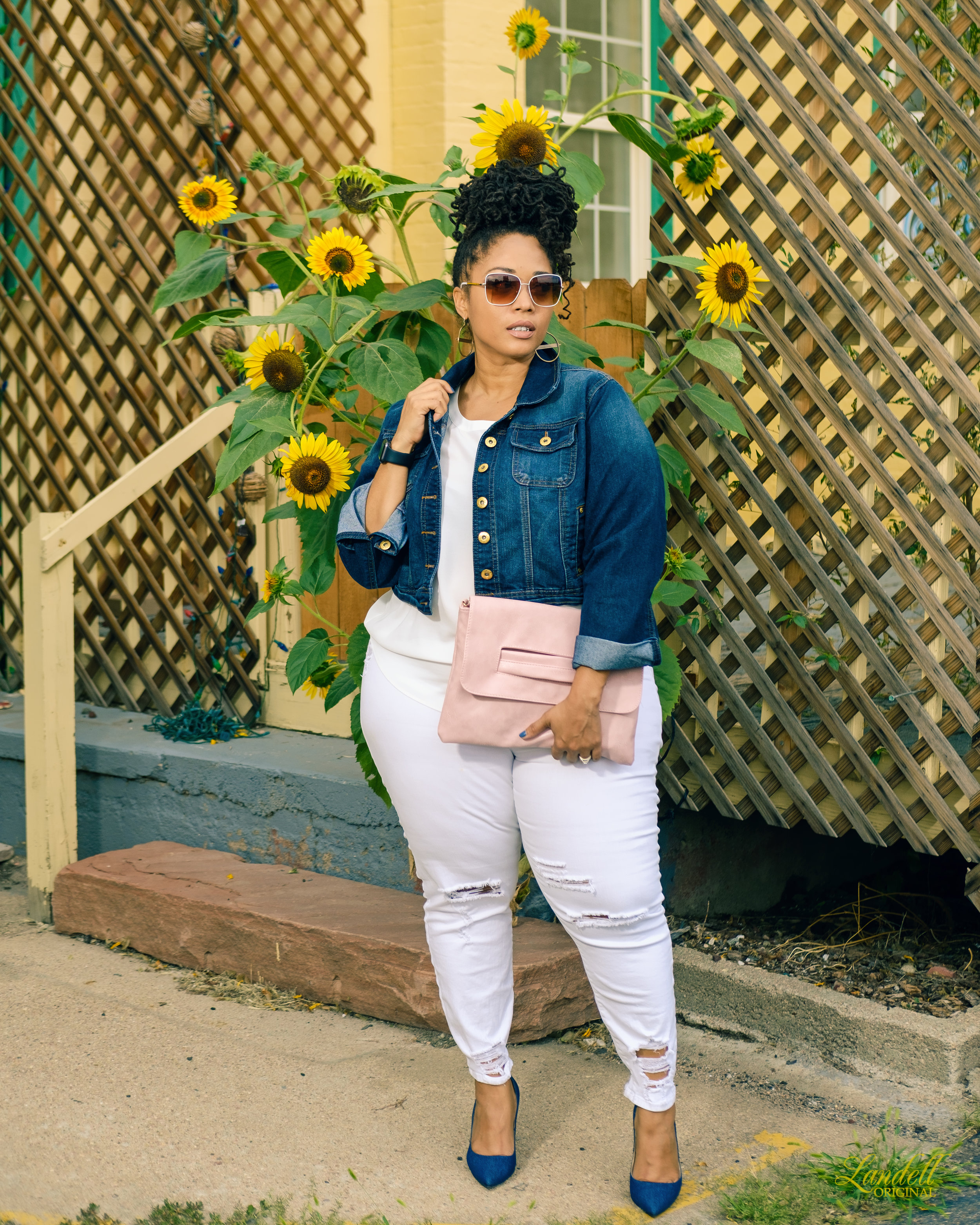 Throw on your fave skinny jeans! -
