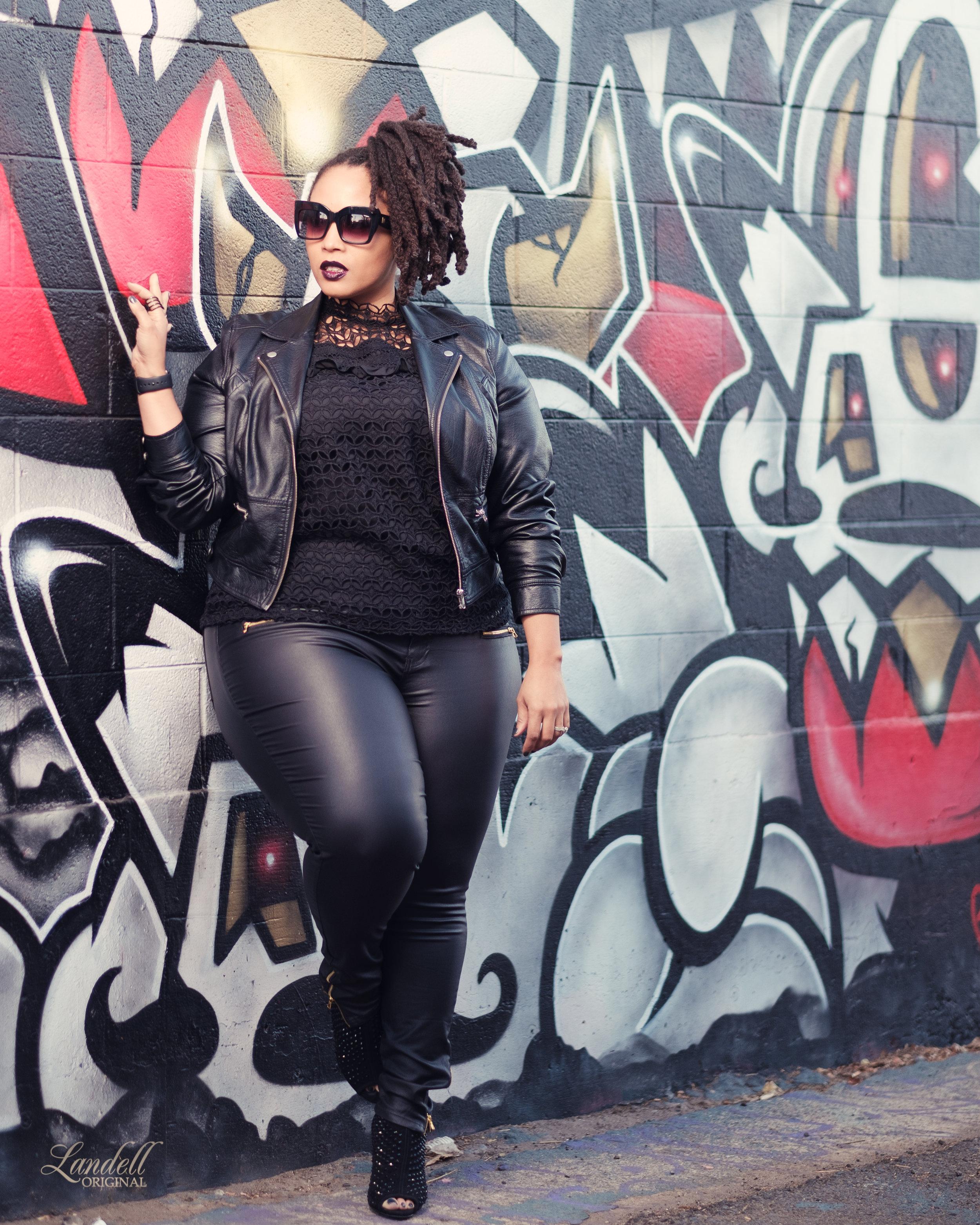 Jacket |  CityChic   Top |  Eloquii   Pants |  CityChic   Boots |  Michael Kors
