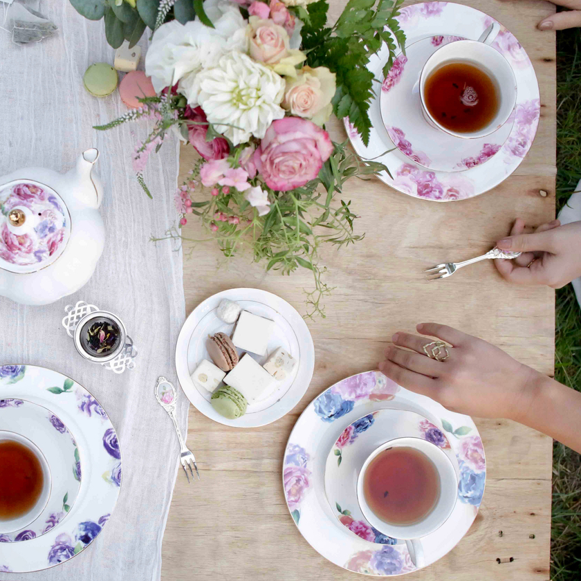 Amity Created Tea Party Scene