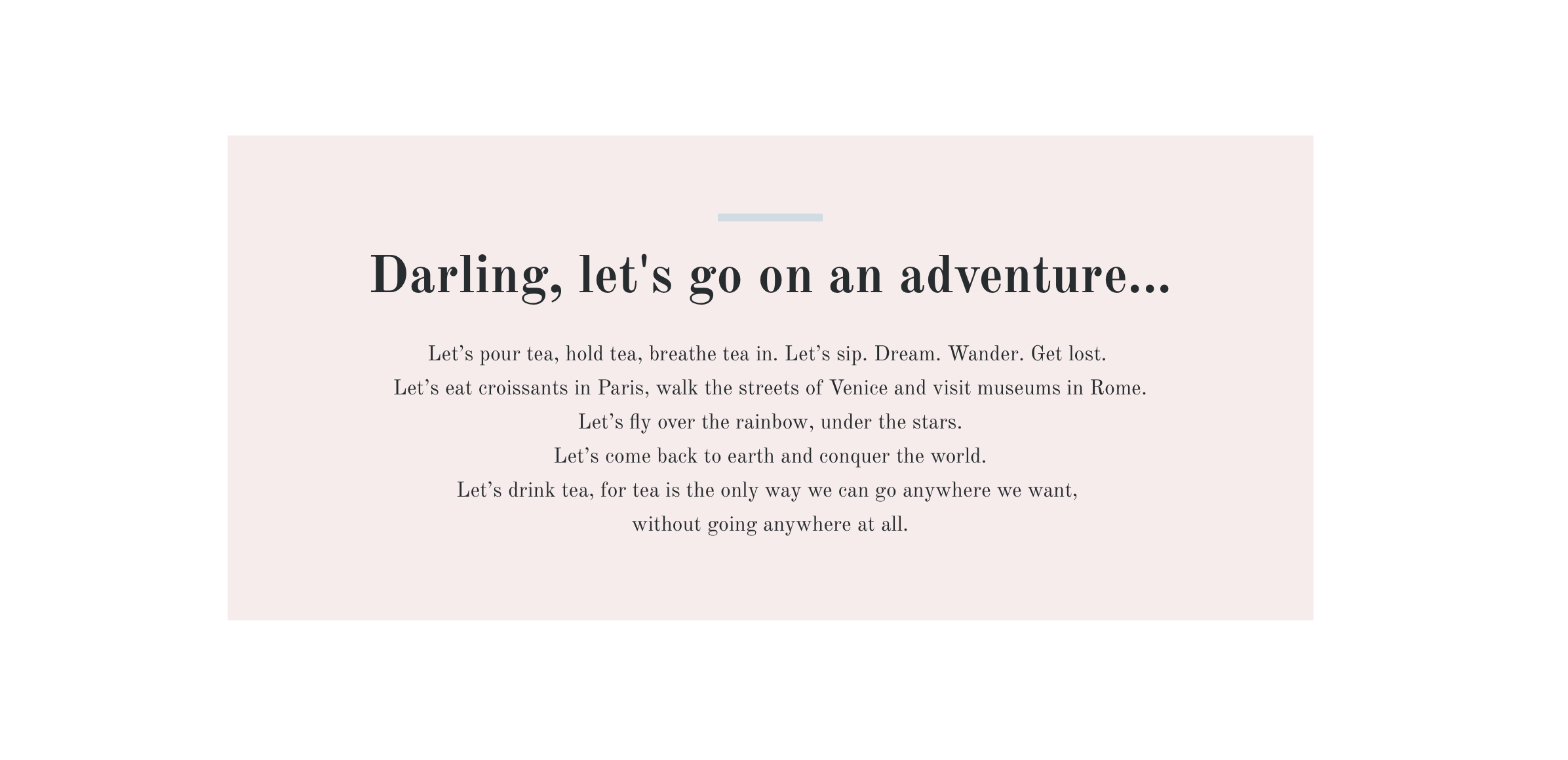 Amity Created Copy Mockup - Darling Let's Go On An Adventure...