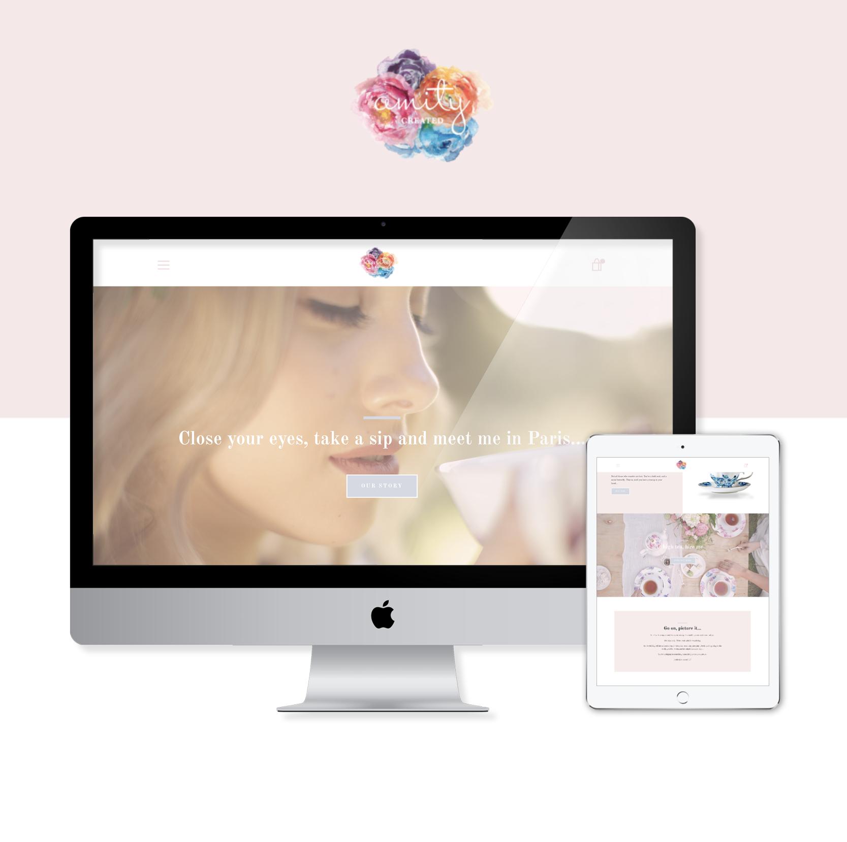 Amity Created iMac and iPad Website Sneak Peak