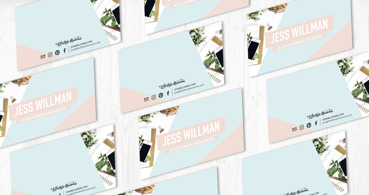 Jess Willman Business Cards