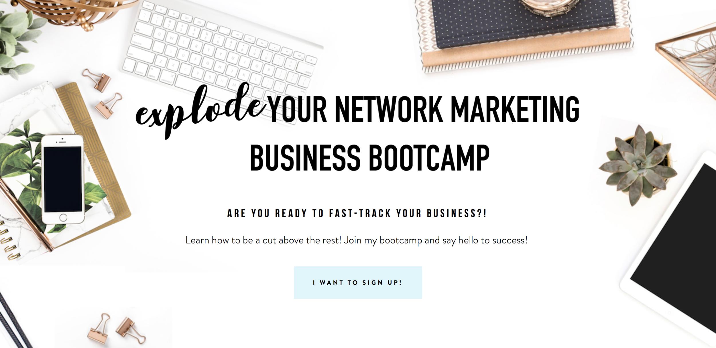 Jess Willman Network Marketing Bootcamp
