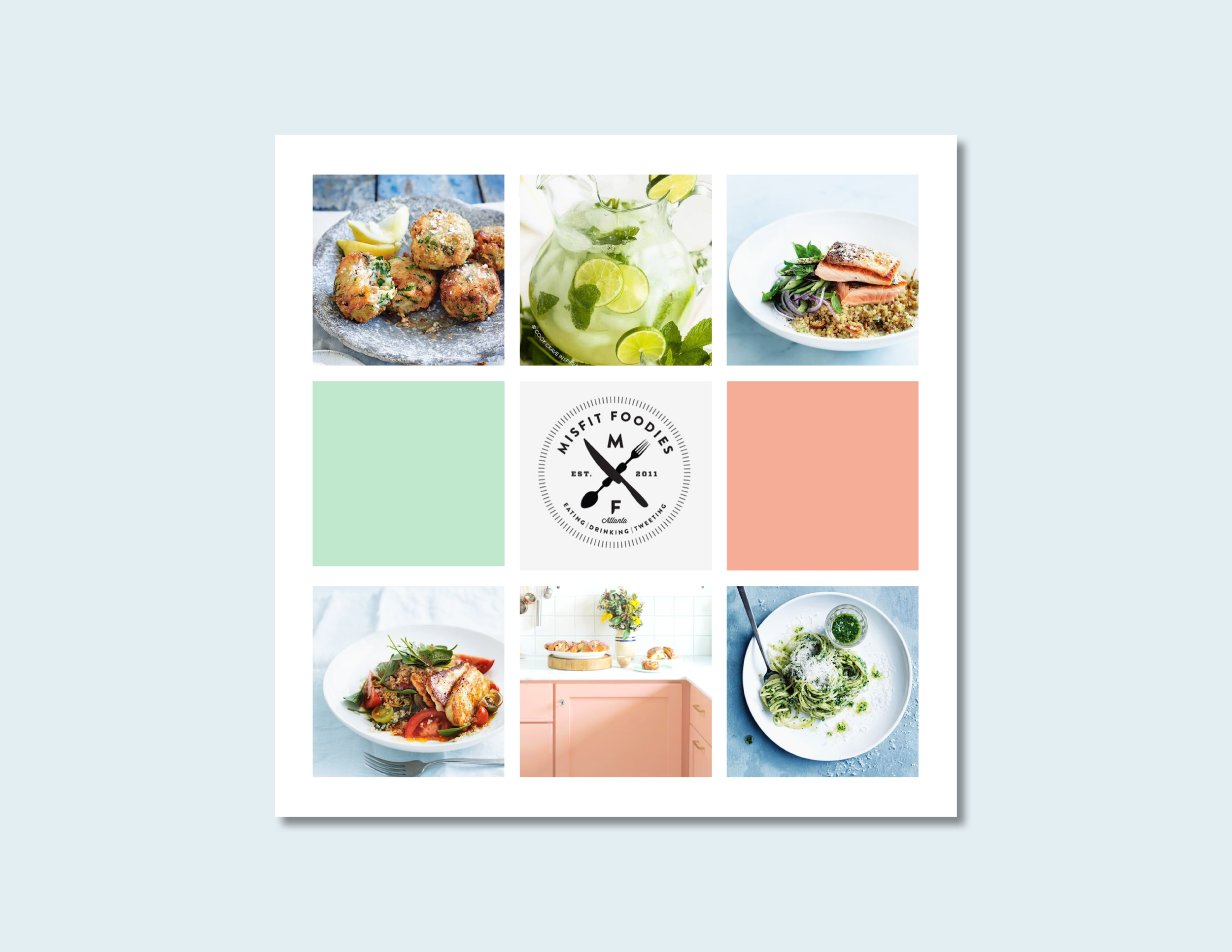 Thermo Foodie and the Chef Moodboard - Kira Hyde