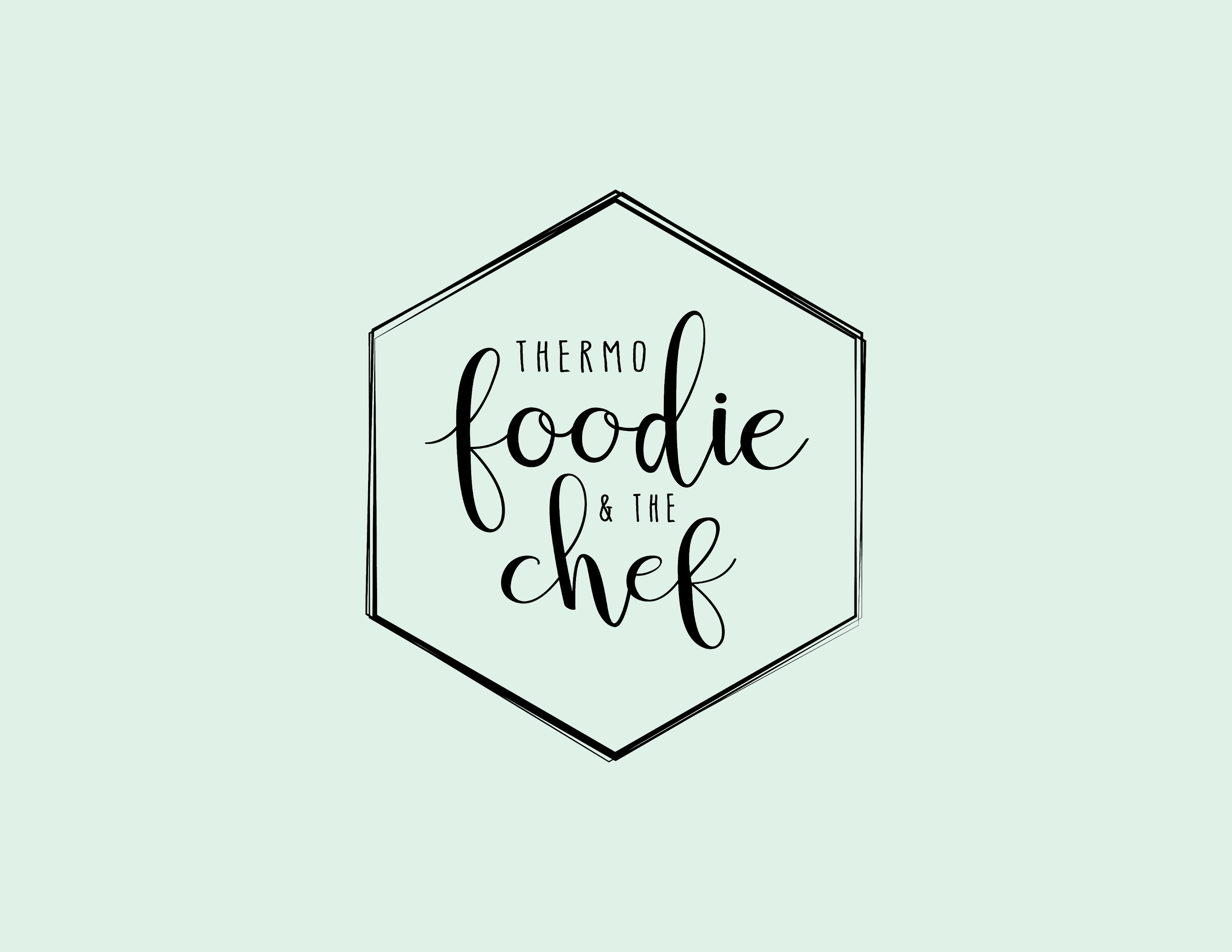 Thermo Foodie Logo Mockups - Kira Hyde