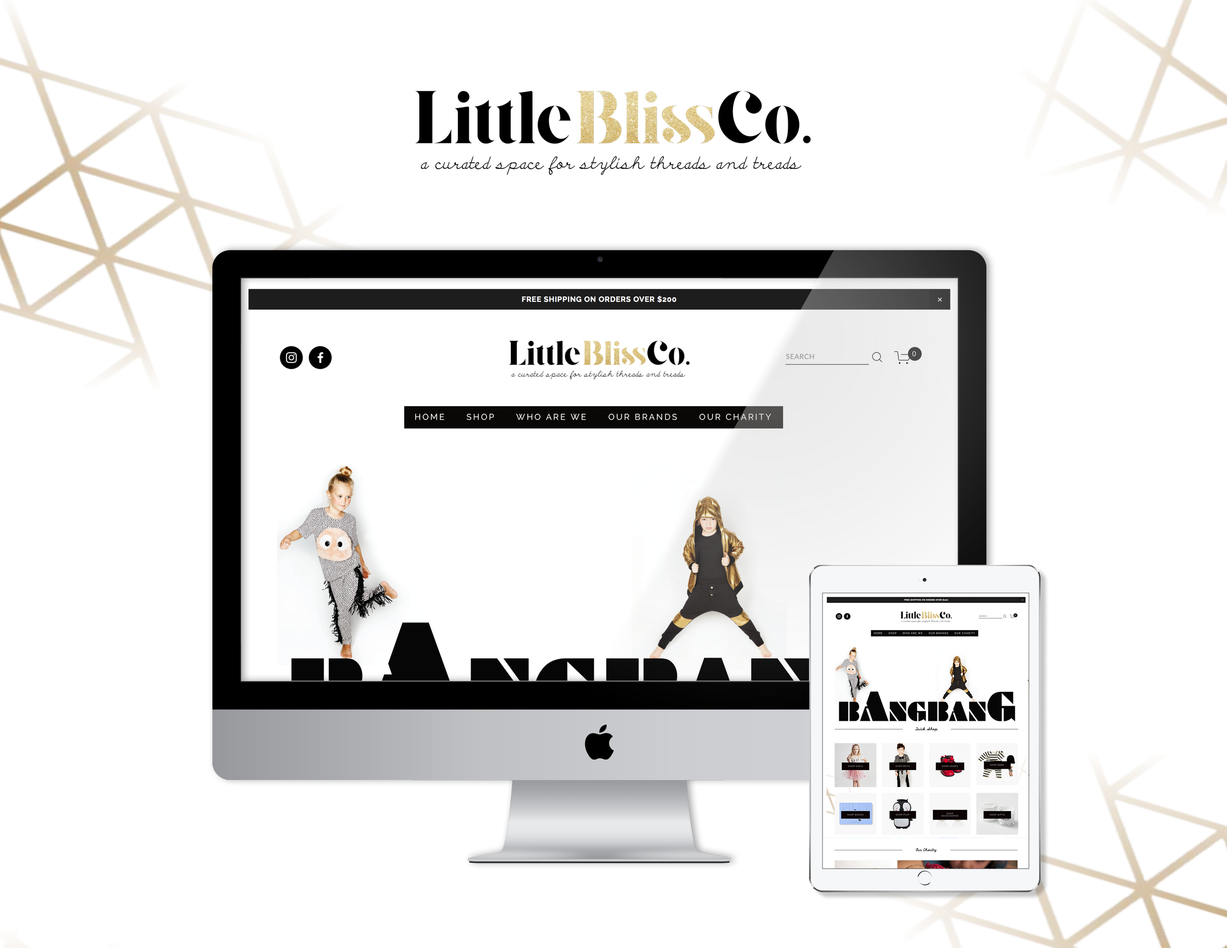 Little Bliss Co. Promotional Ad - Kira Hyde
