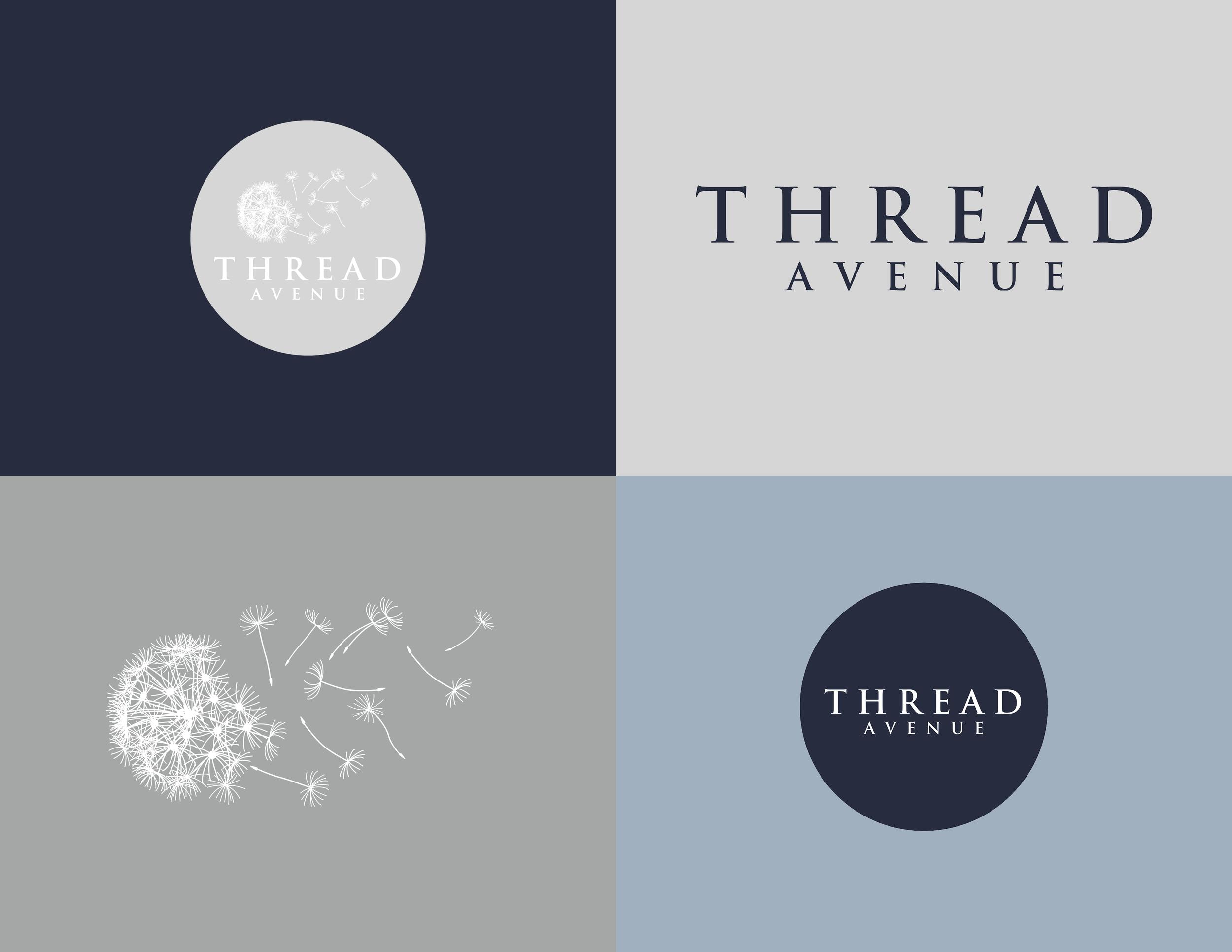 Thread Avenue Logo - Kira Hyde Creative