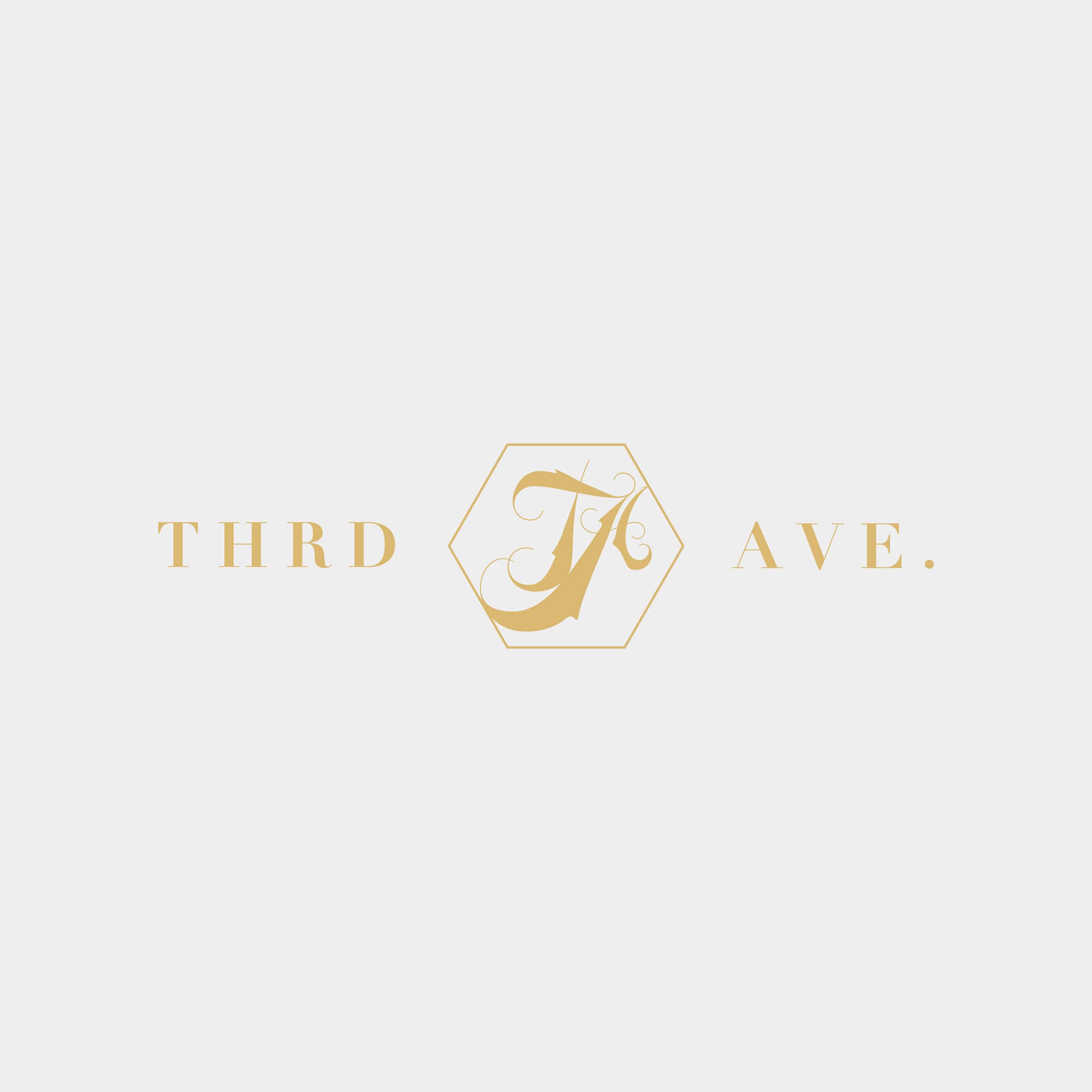 Third Ave. Logo - Kira Hyde Creative