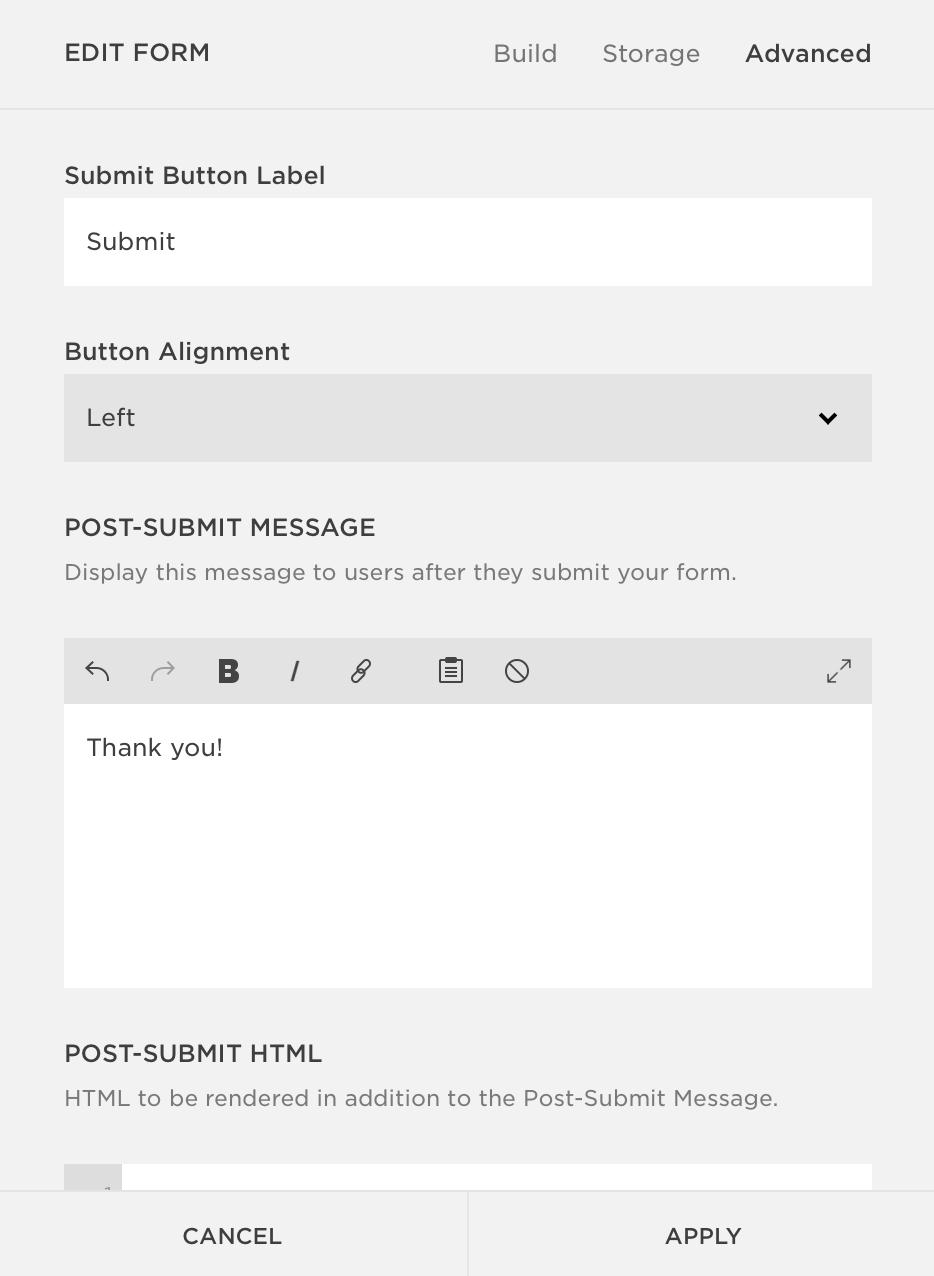 Squarespace Contact Form Tutorial