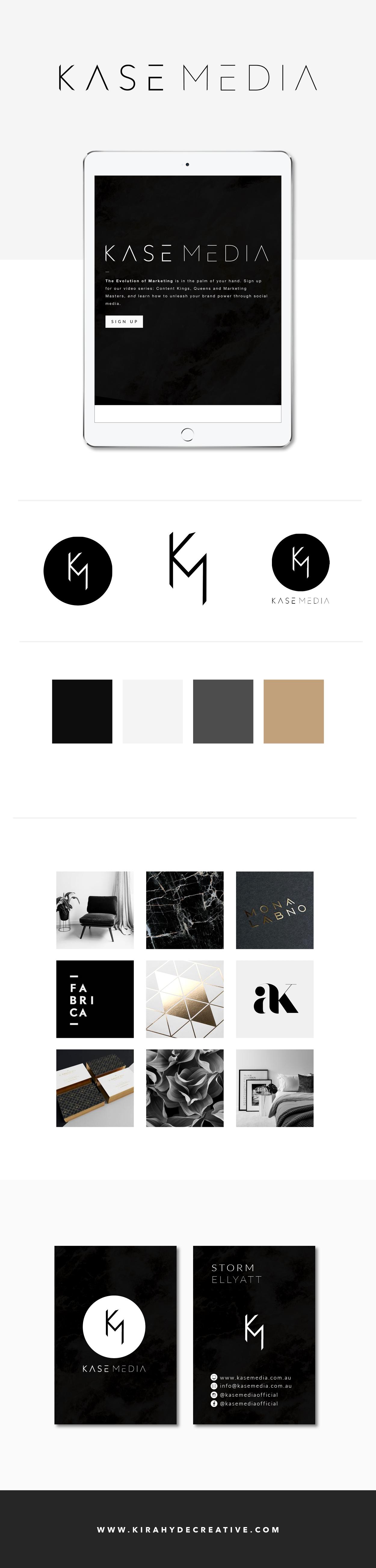 Kase Media Branding - Kira Hyde Creative