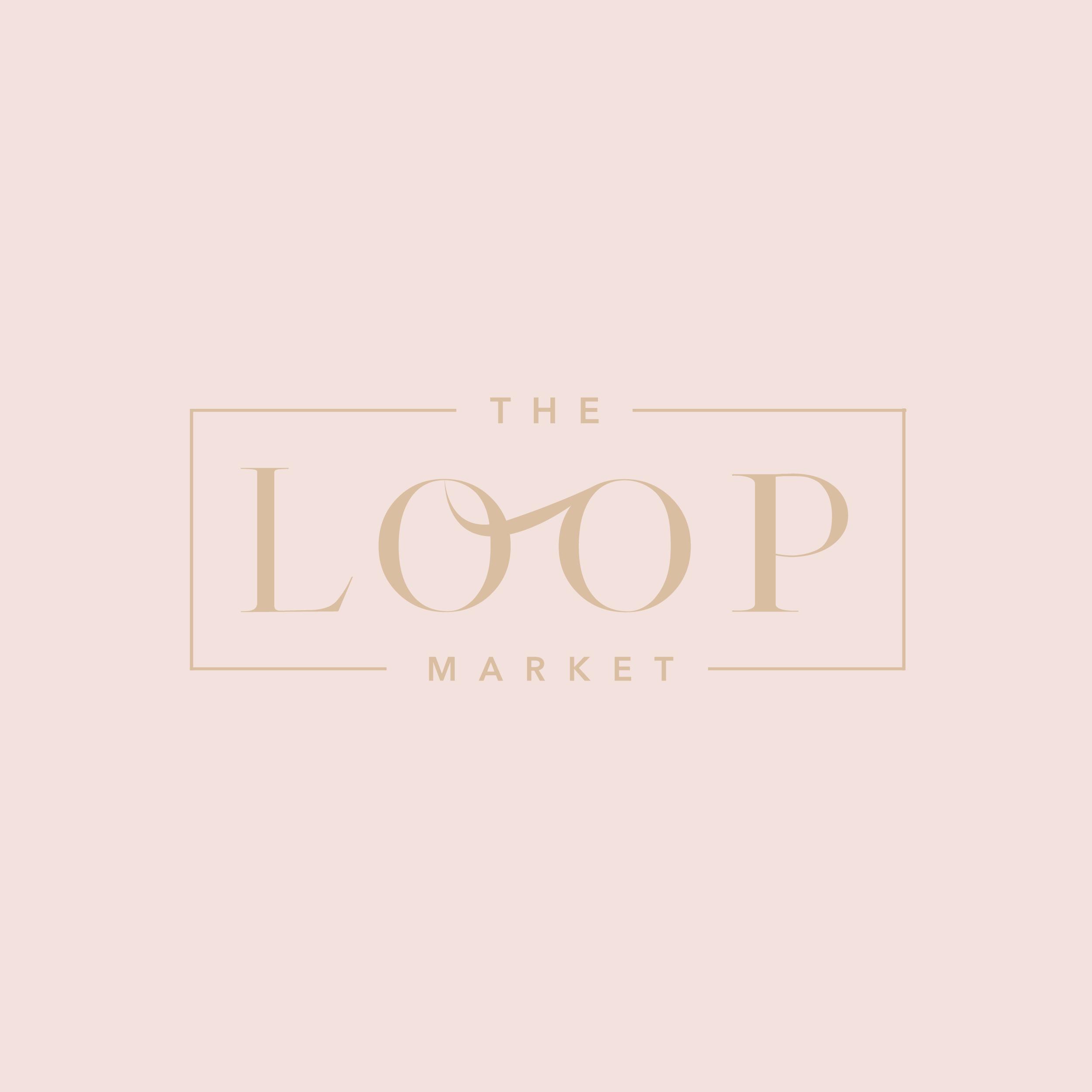 The Loop Market Brand & Logo - Kira Hyde Creative