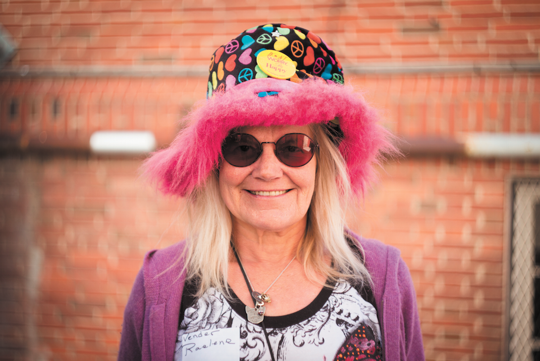 """Raelene Johnson - Raelene has been a VOICE vendor since January 14, 2008. """"I went from living under a bridge to owning my home,"""" says Raelene, who now lives in an RV near Boulder.Photo: Jesse Borrell"""