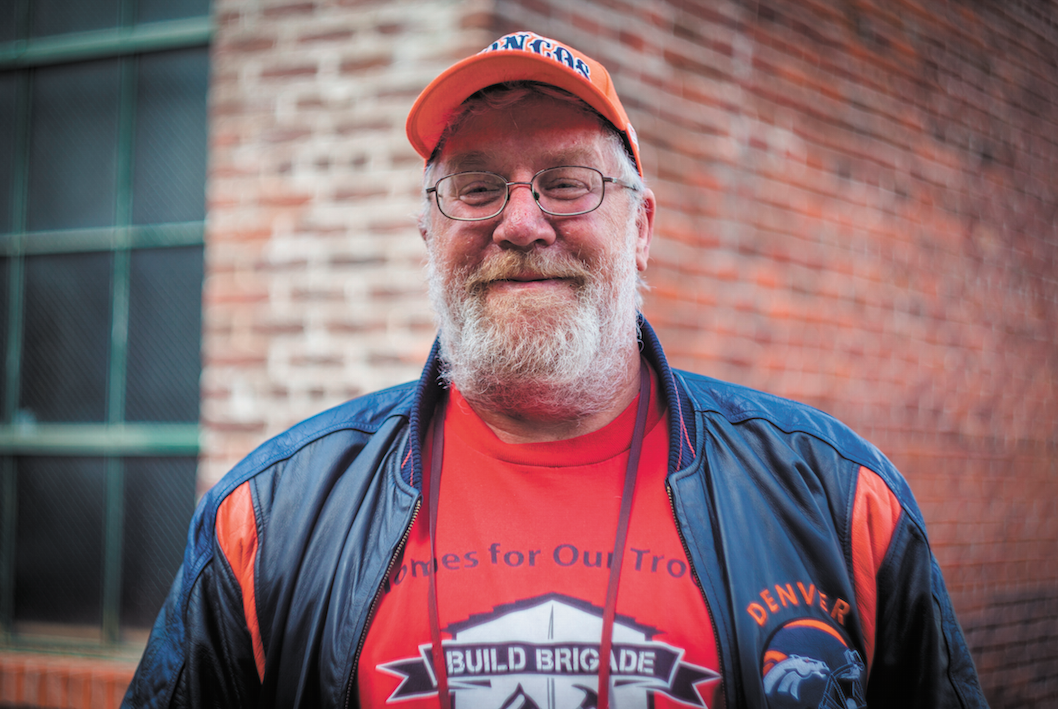 Brian Augustine - Brian's photos are centered around two areas where he spends much of his time: the South Pearl Street Farmers Market and the 16th Street Mall.Photo: Jesse Borrell
