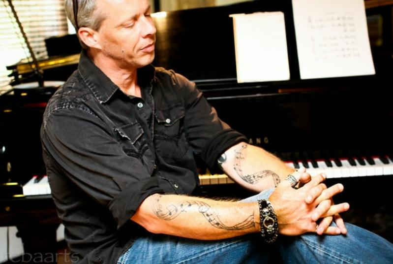 """Amato has released an album with another soon on the way. """"I'm a perfectionist,"""" he says. """"It's no matter right, however many times I write it."""" (Credit: Derek Amato)"""