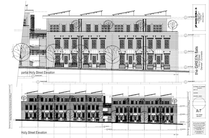 Plans for the Green Flats Project, which City Council voted against passing in January 6 meeting. (Credit: The Cranmer Park/Hilltop Civic Association)