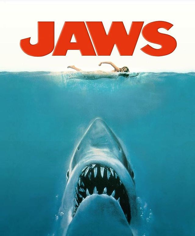"""""""Smile, you son of a b--h!""""-Jaws #tuesdaytips"""